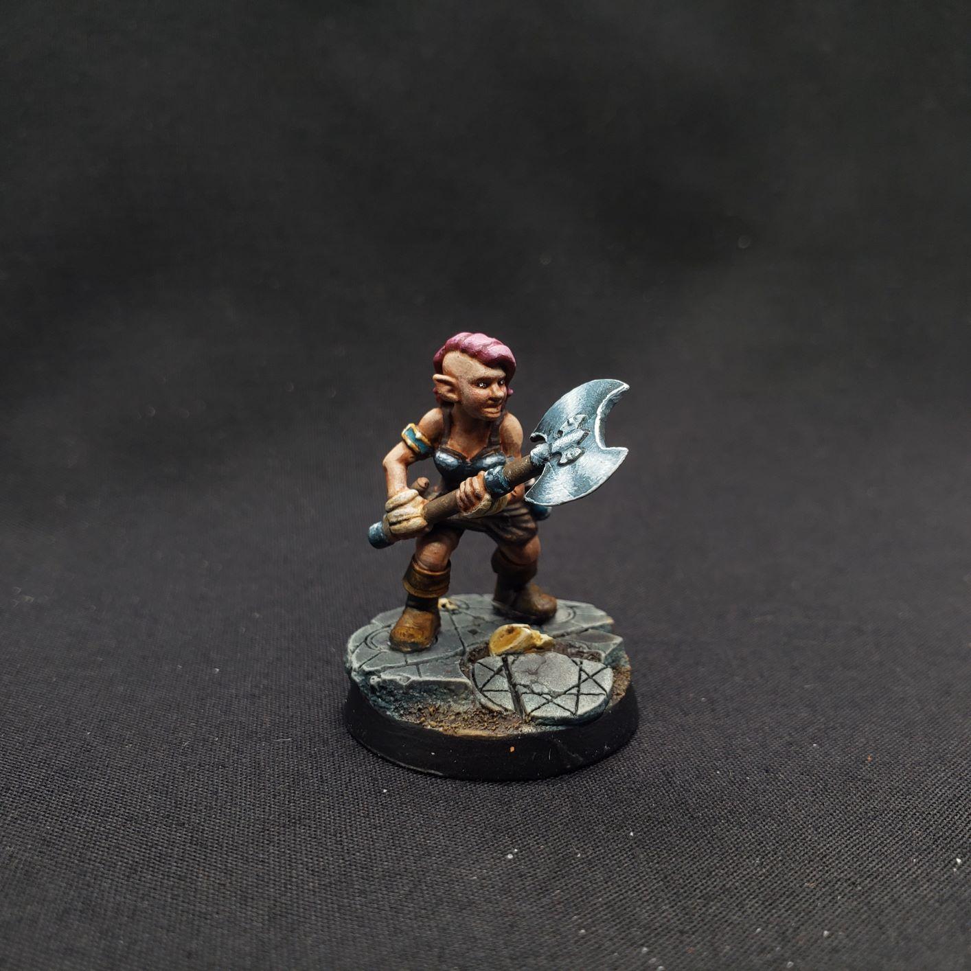 Gilly, Halfling Barbarian
