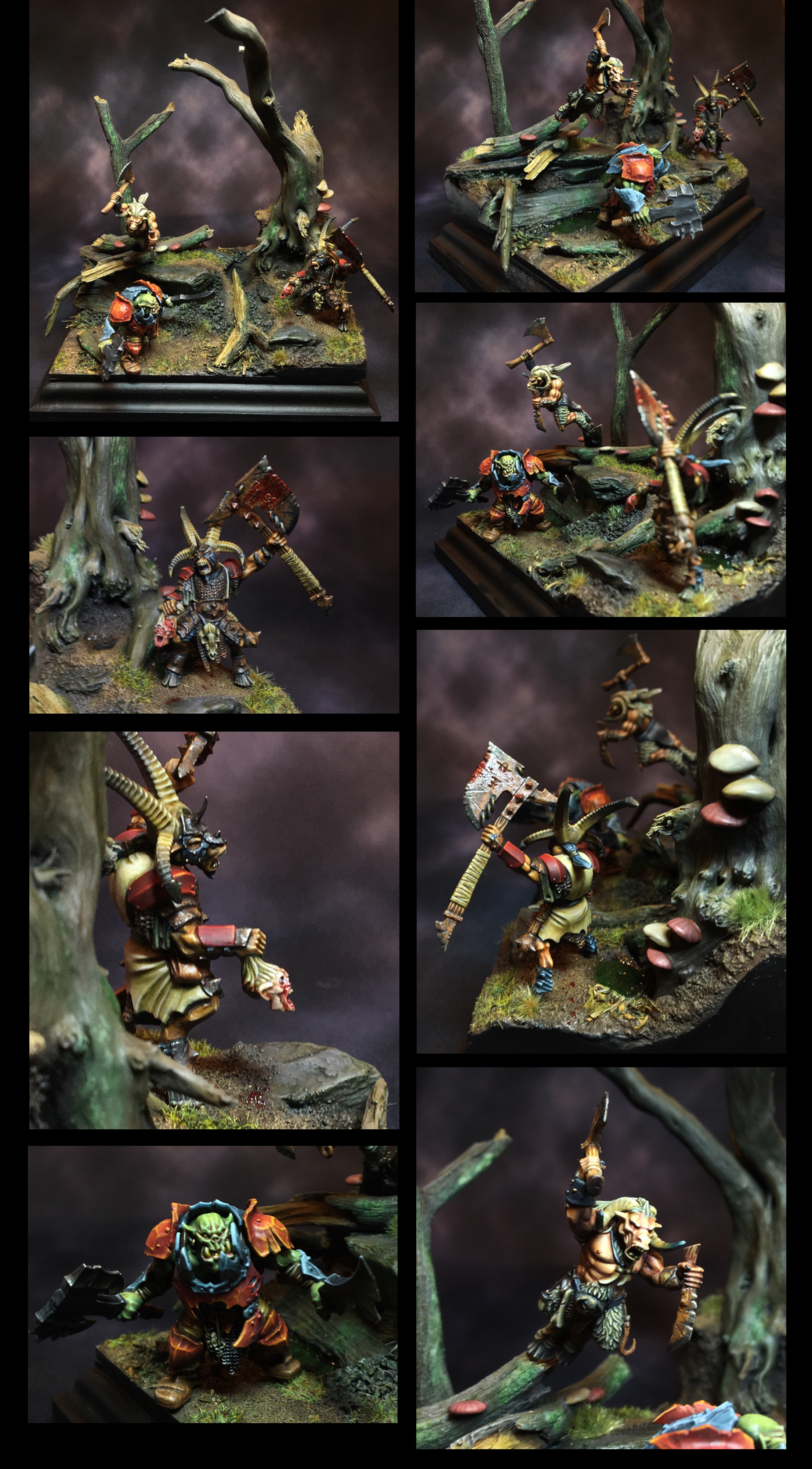 Wrong Neck of the Woods - Diorama Capital Palette