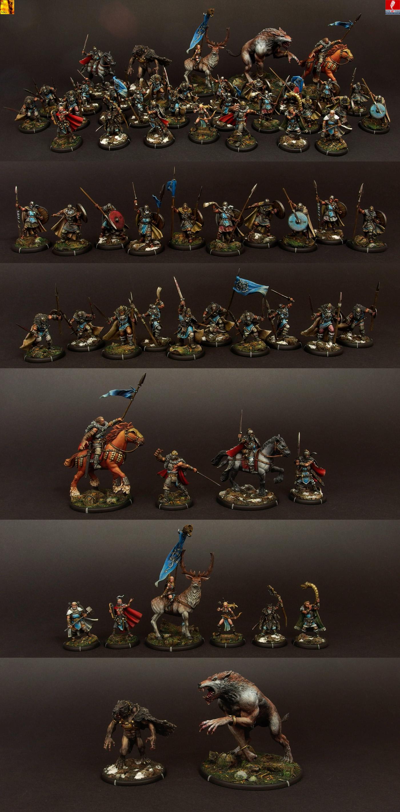 Darklands - Anglecynn by Mierce Miniatures