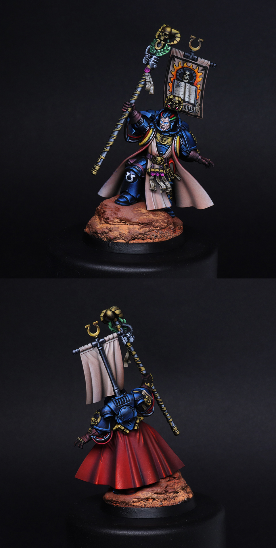 Chief Librarian Tigurius of the Ultramarines Chapter