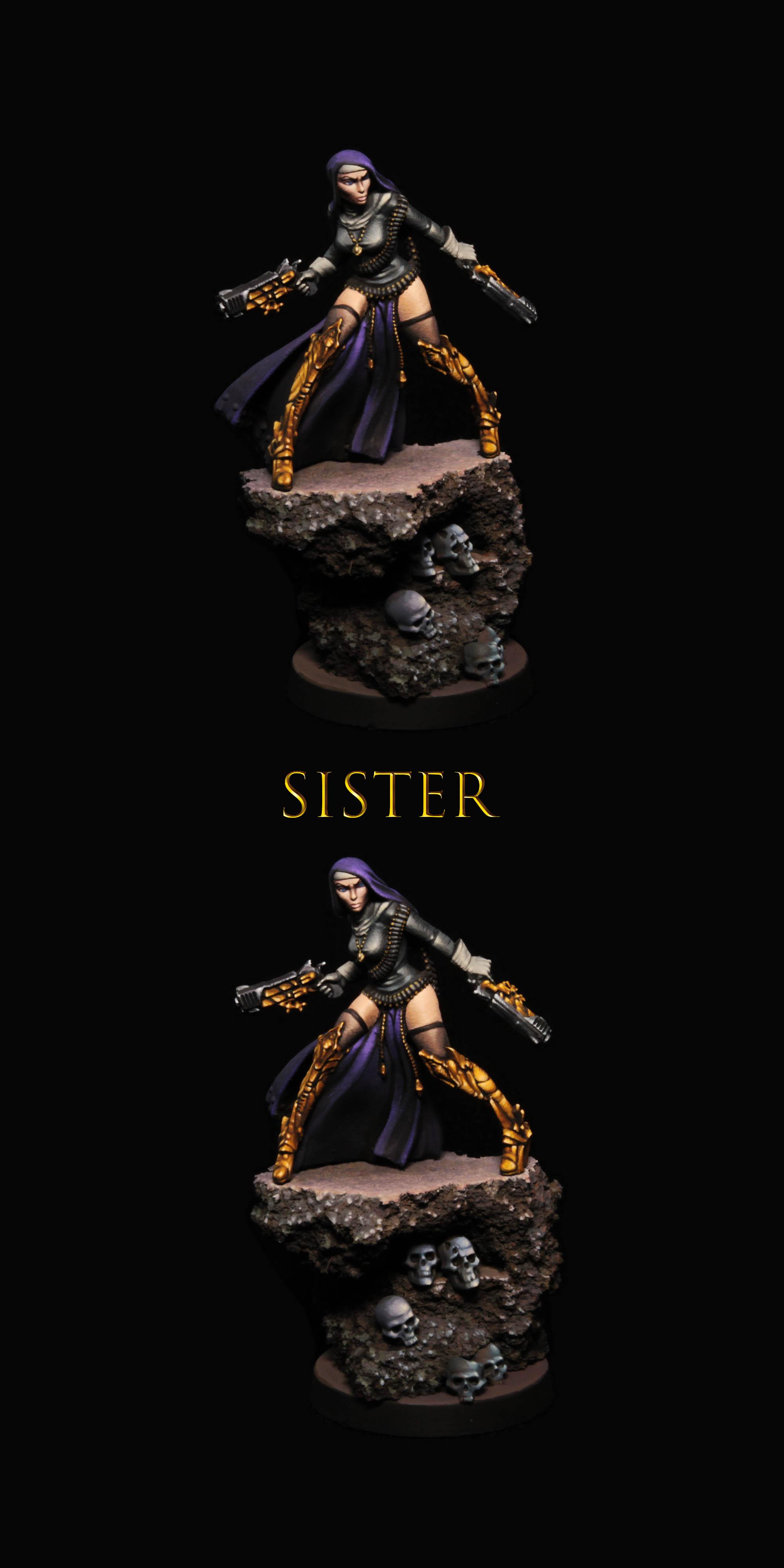 Raging heroes    sister