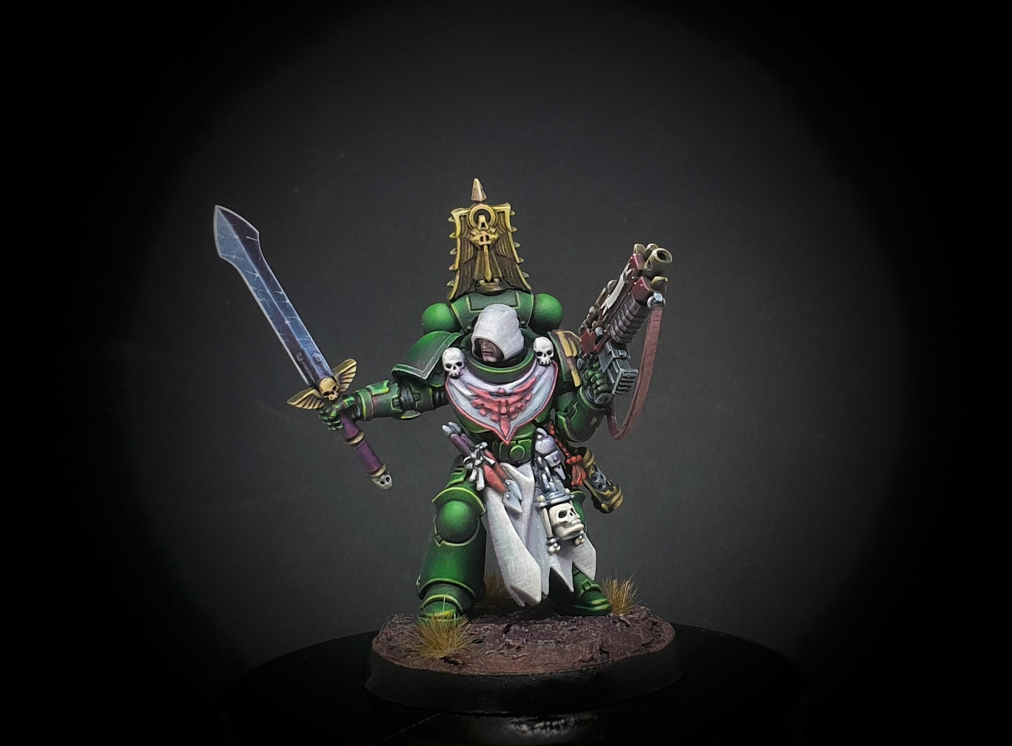 Dark Angels Captain primaris conversion