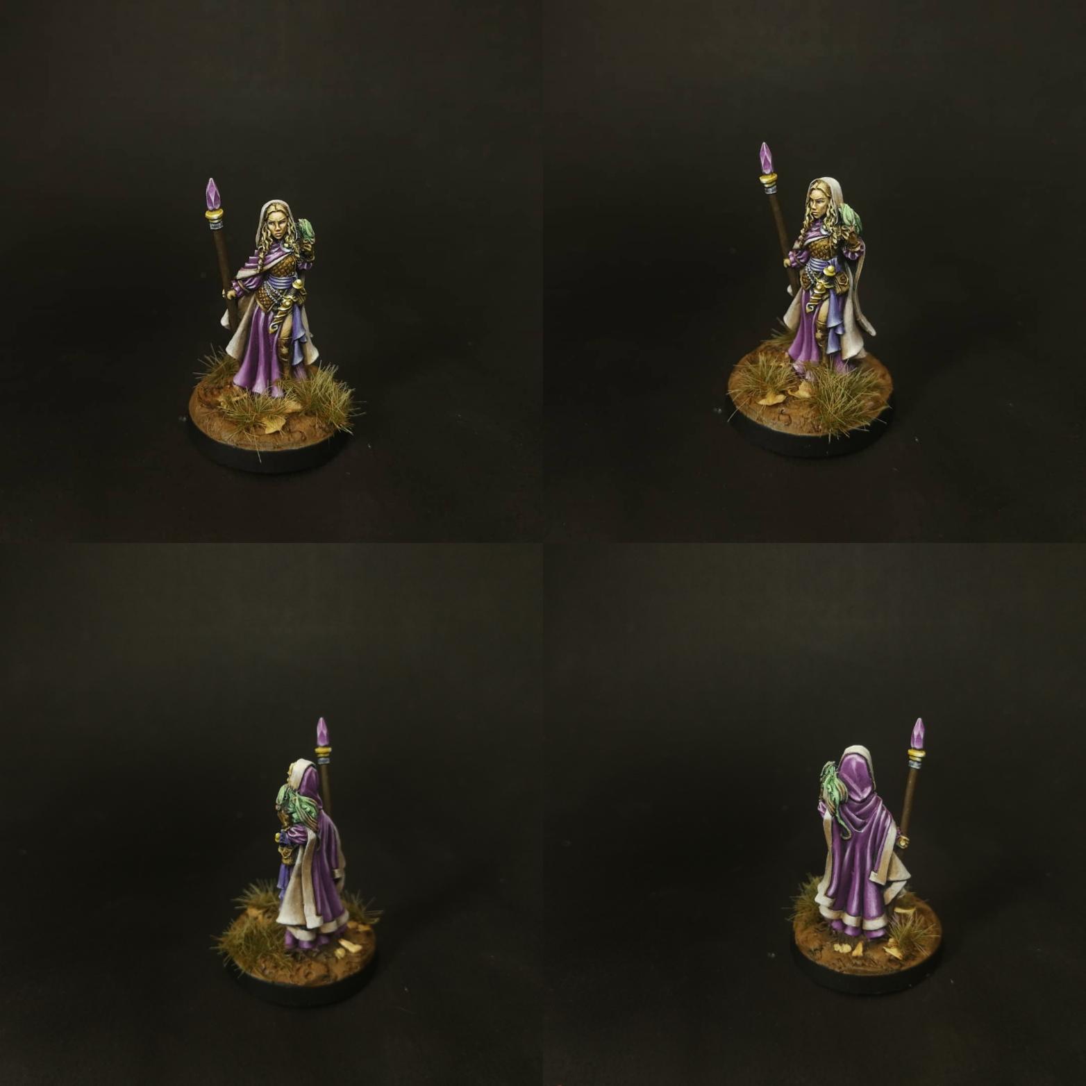Myrianna of Aelfheim - female elf druid