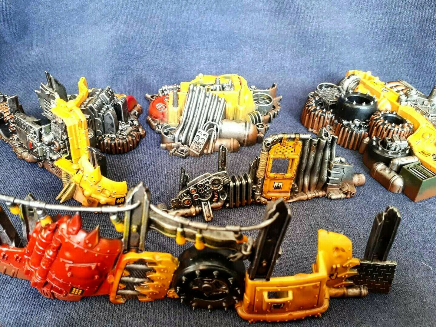 Ork Speed freeks barricades