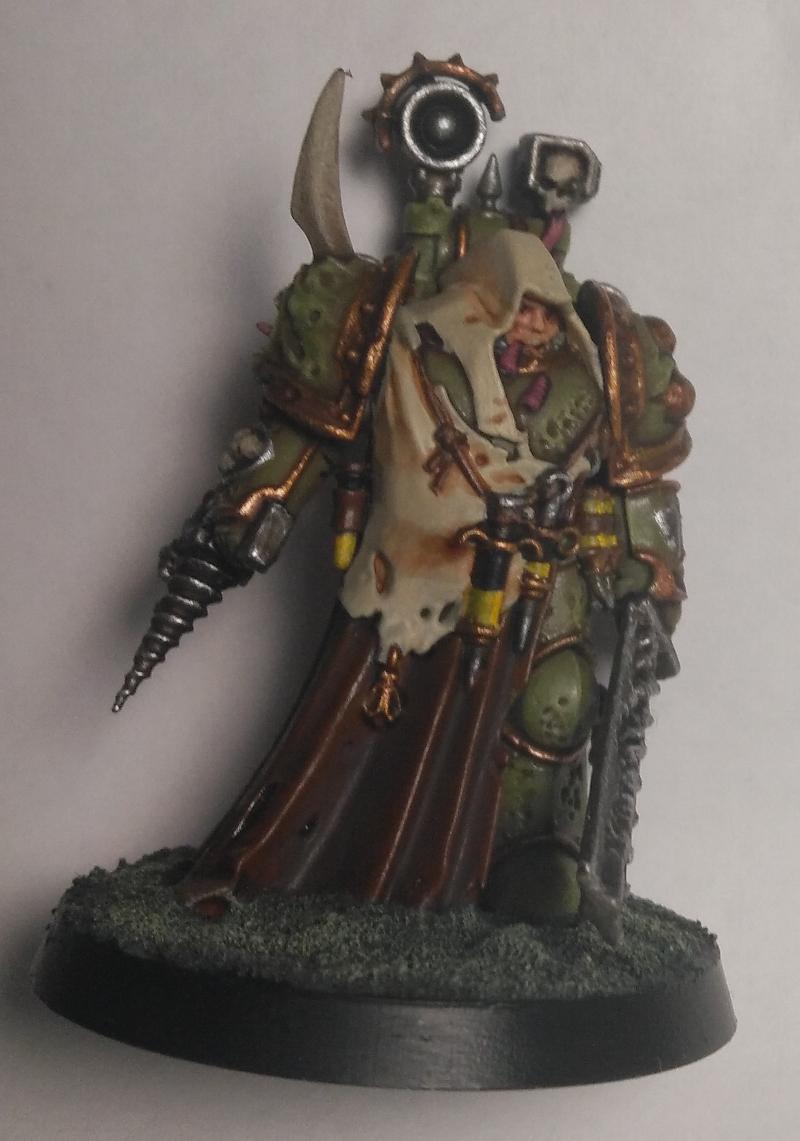 Death Guard Nauseous Rotbone, the Plague Surgeon