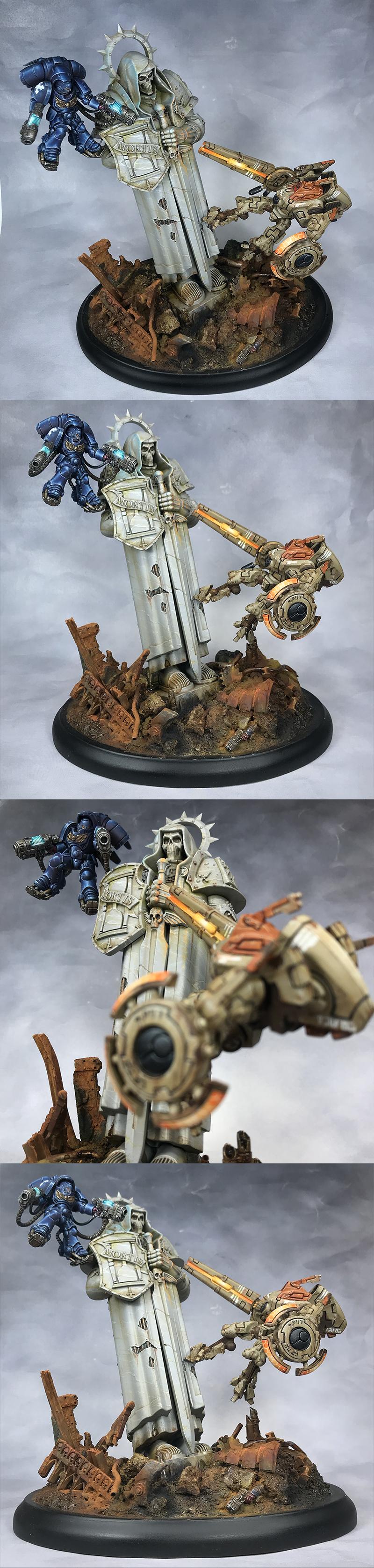 Primaris Inceptor and Tau Commander dual