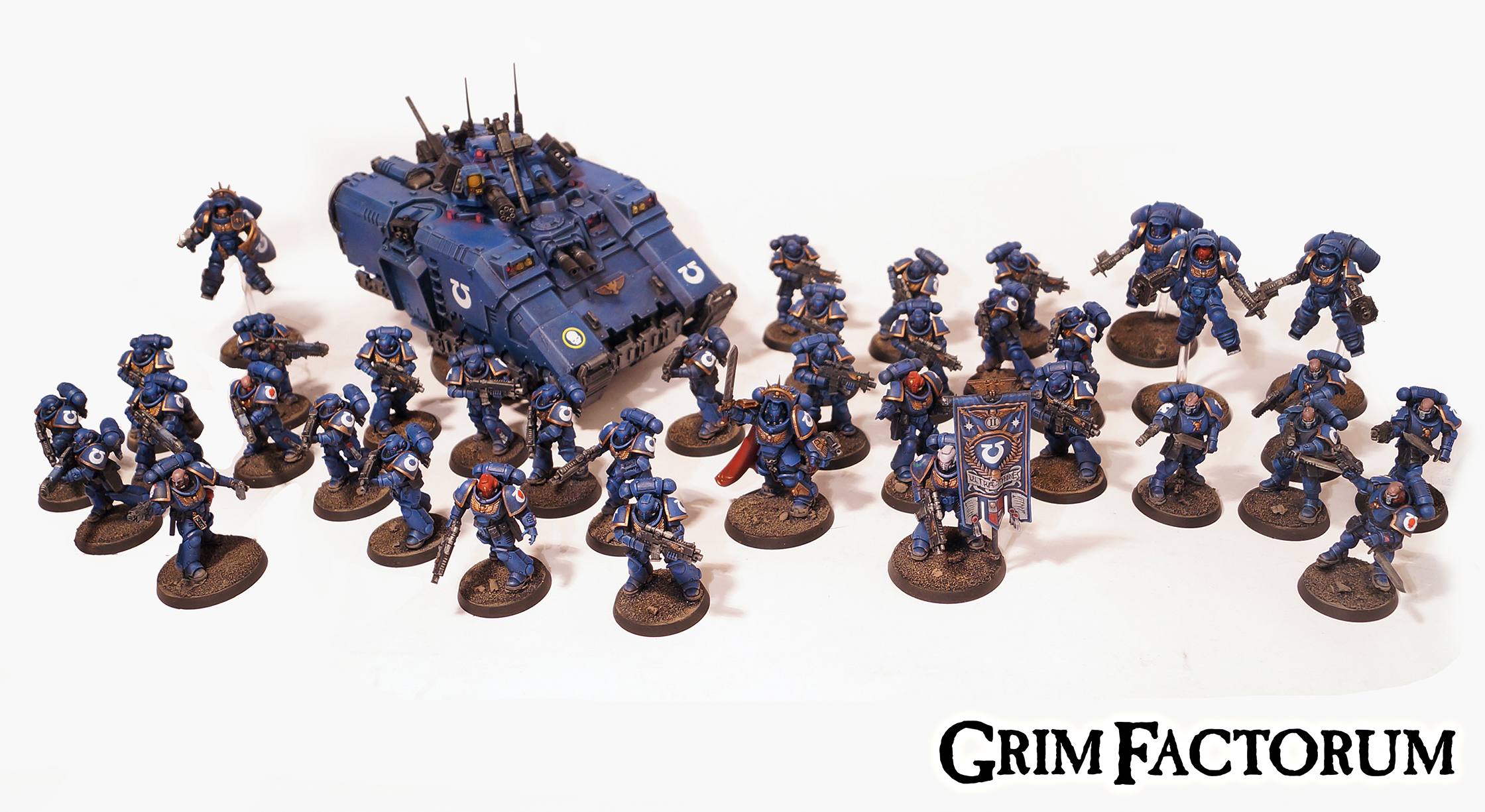 Ultramarines Primaris Force