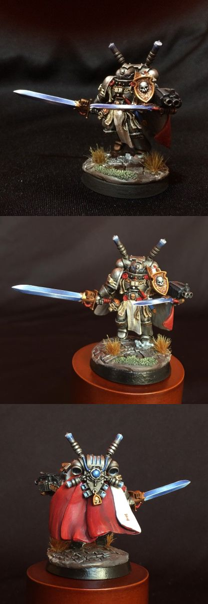 Grey Knights Champion Brother Hood