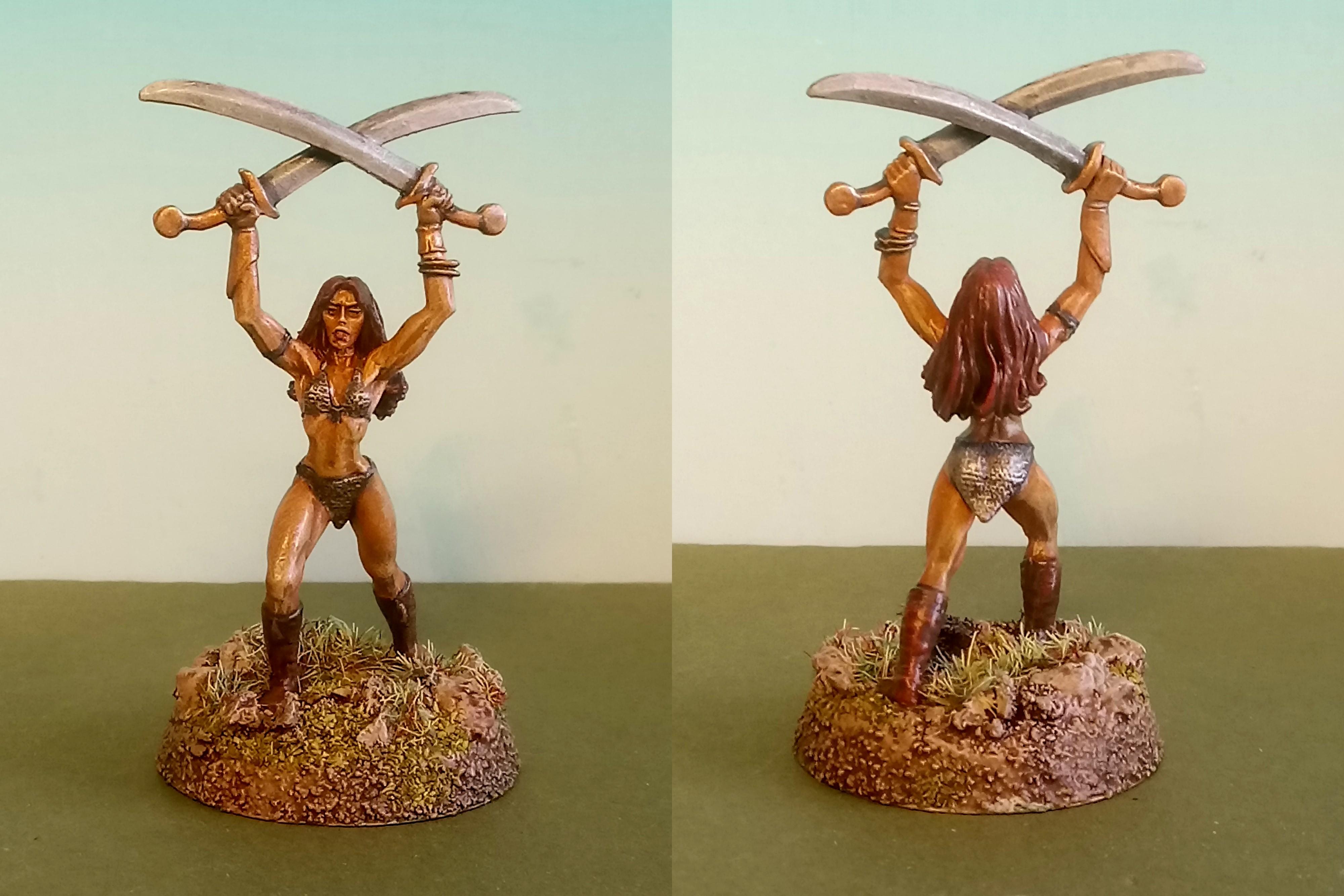 Reaper Miniatures, Dark Heaven Legends - Korin, Barbarian