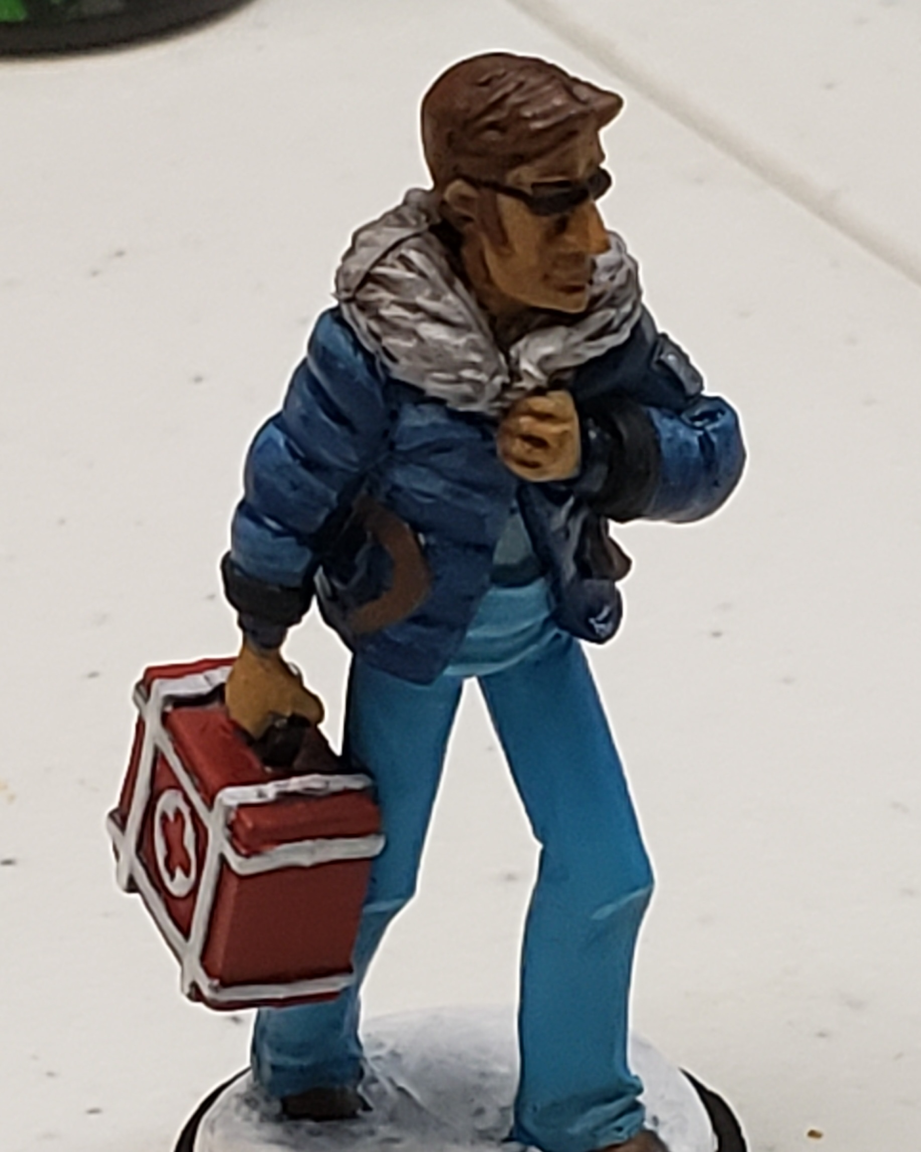 Blue Medic from the board game