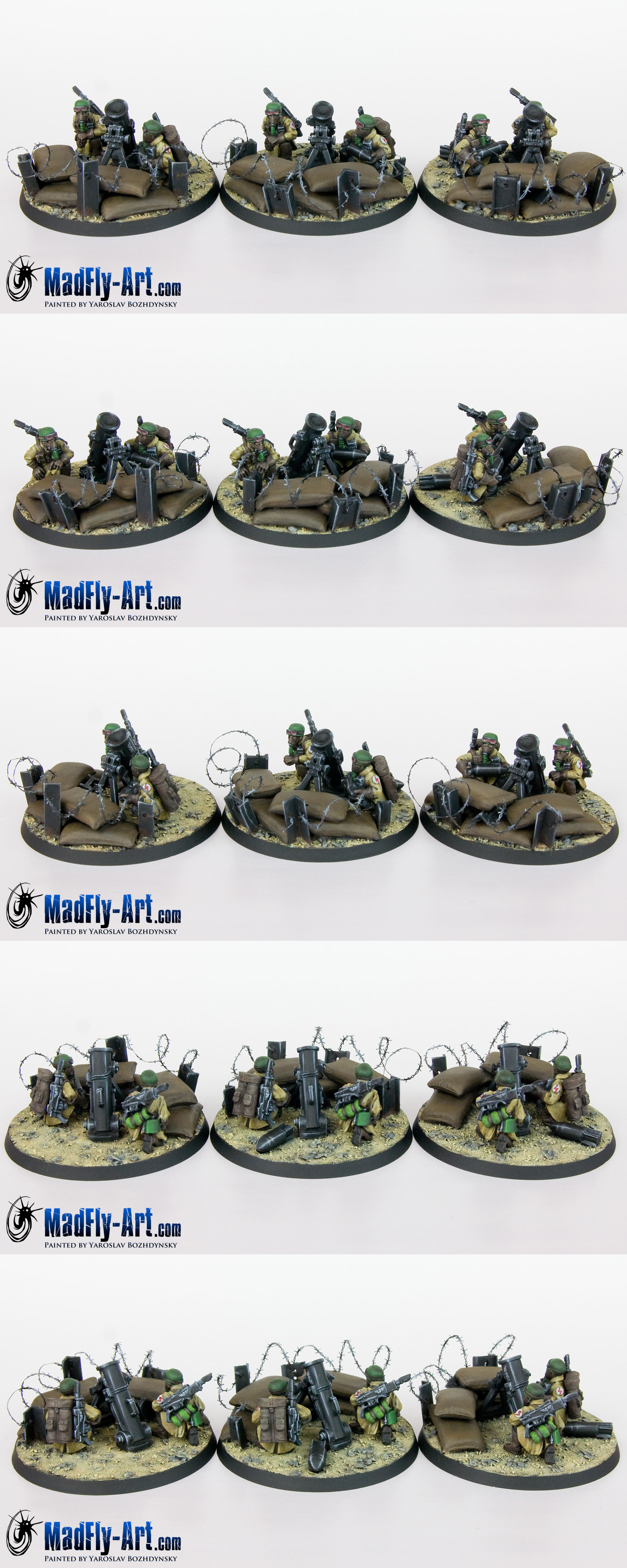 Steel Legion Heavy Weapons Squad 3