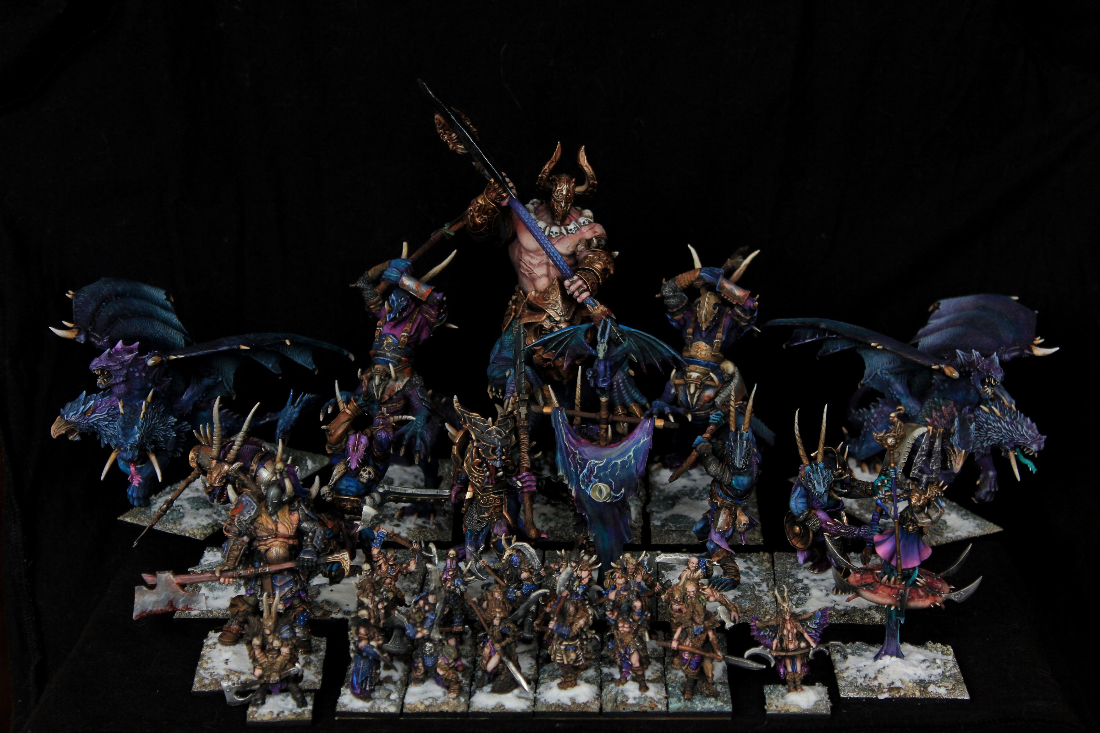 Warriors of the Dark Gods Dragon Ogre Army