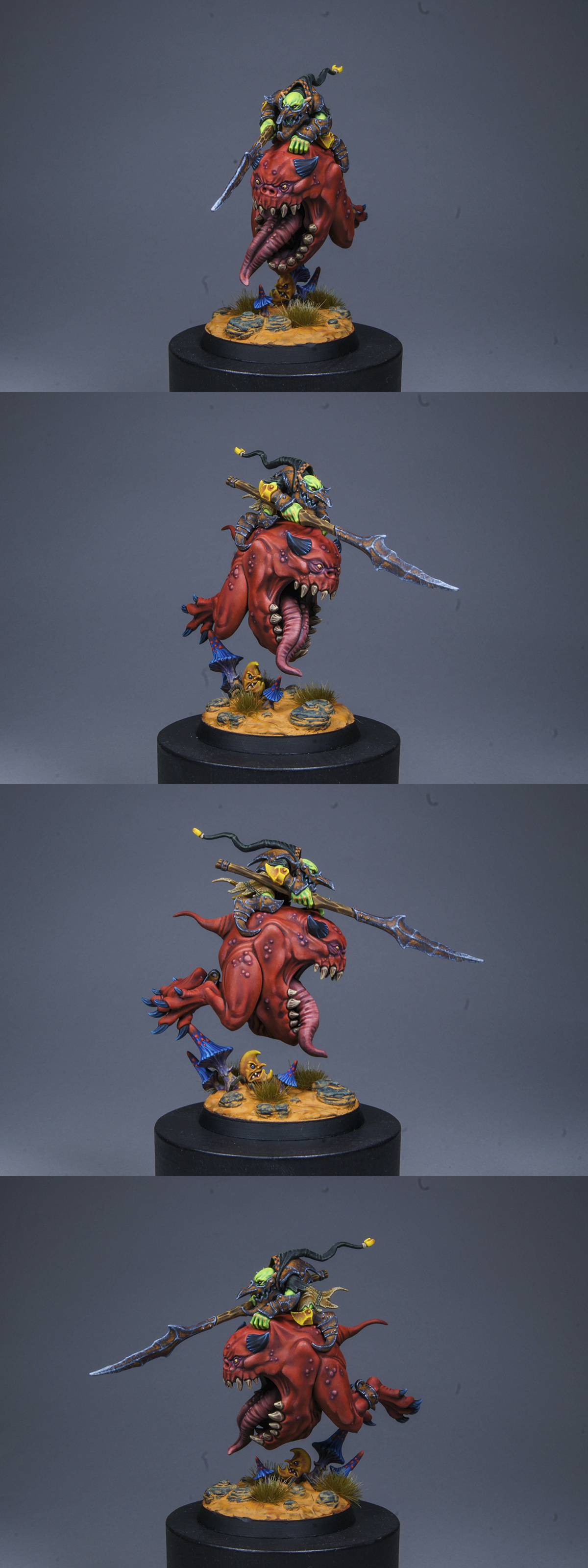 Loonboss on Giant cave Squig.