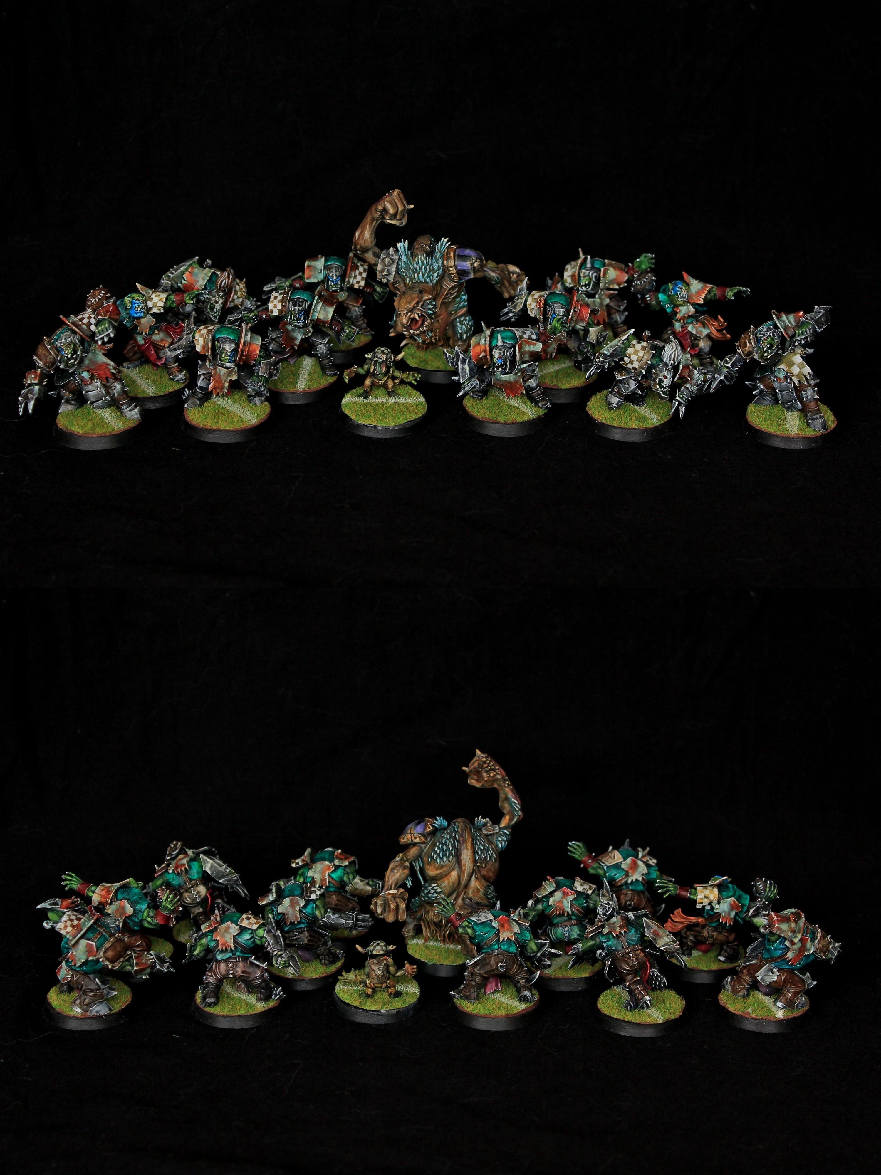 The Gouged Eye - Orc Blood Bowl Team