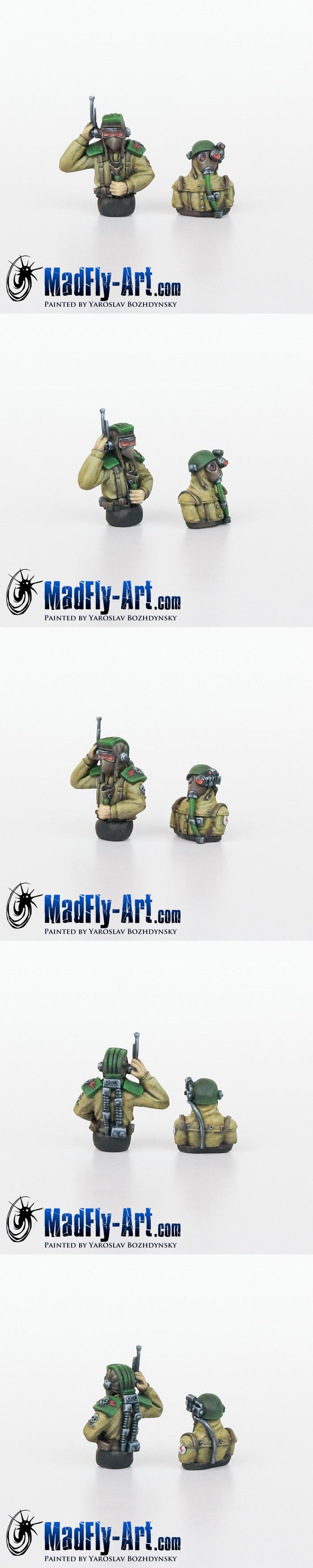 Steel Legion Tank Crew