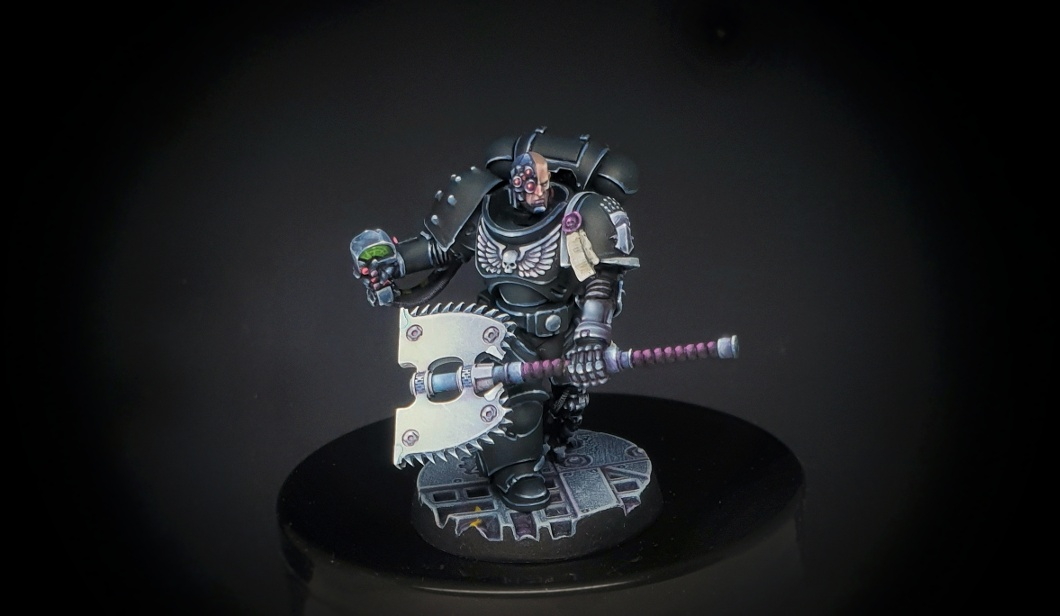 Iron Hands Captain conversion