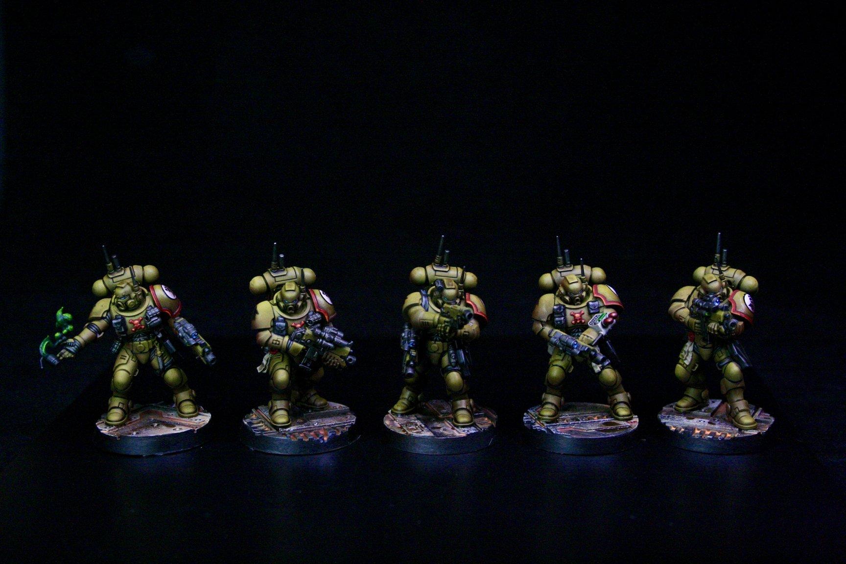 Imperial Fists Primaris Infiltrators