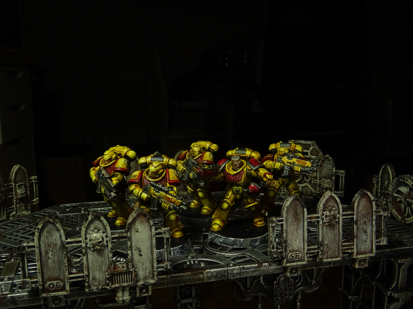 Imperial Fists intercessors