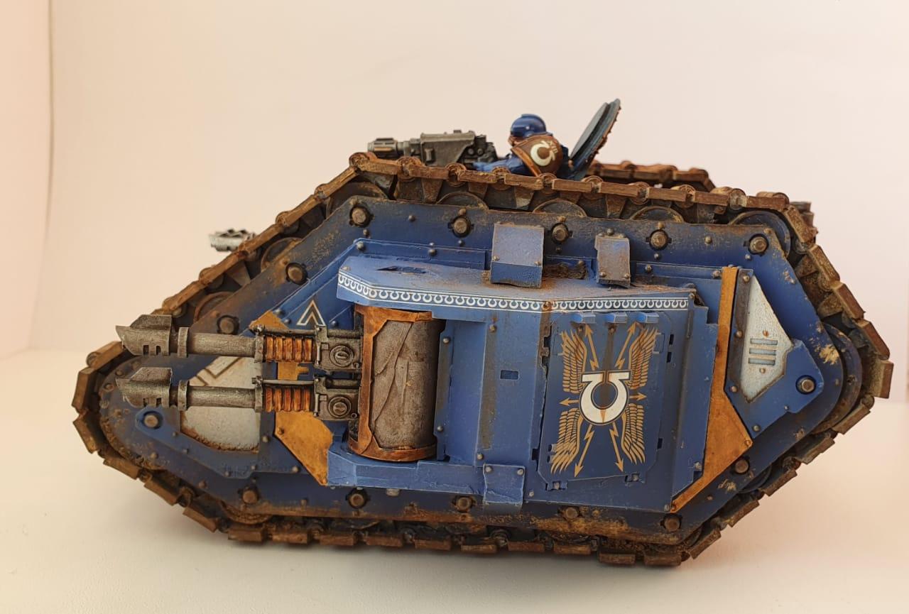 ultramarines pre-heresy land raider