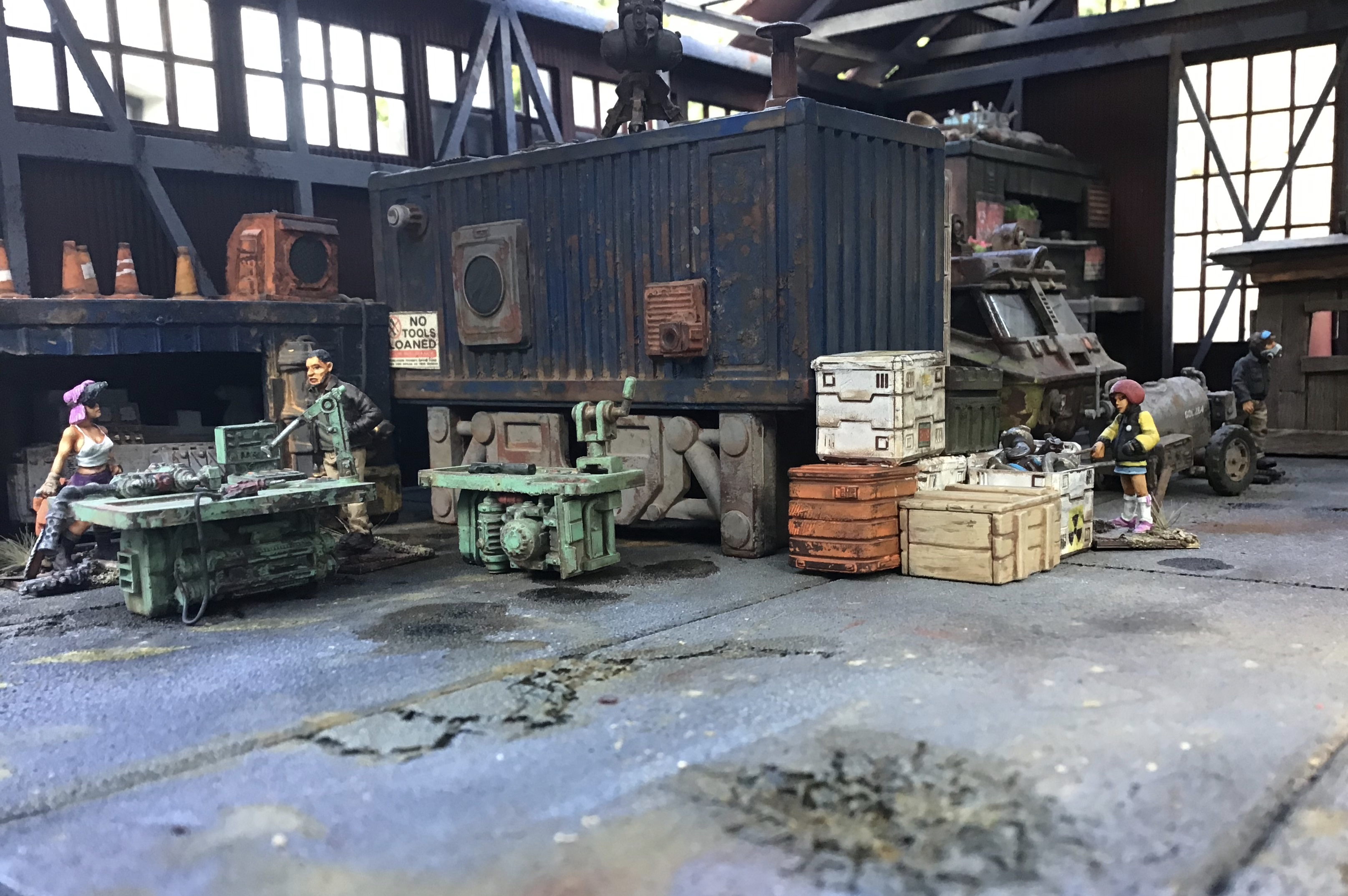 Junktown Hangar in Settlement Mode I