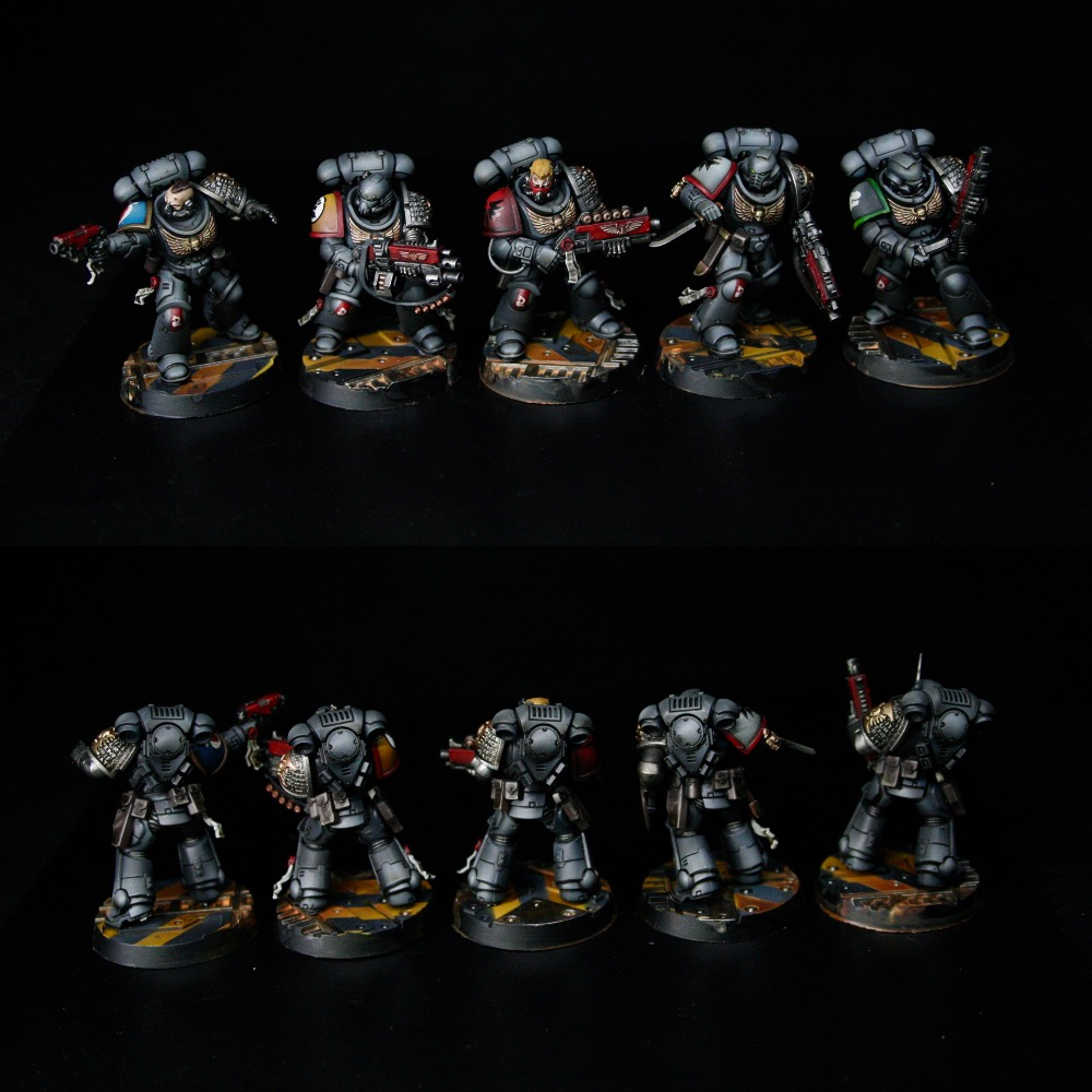 Primaris Deathwatch Intercessor Squad