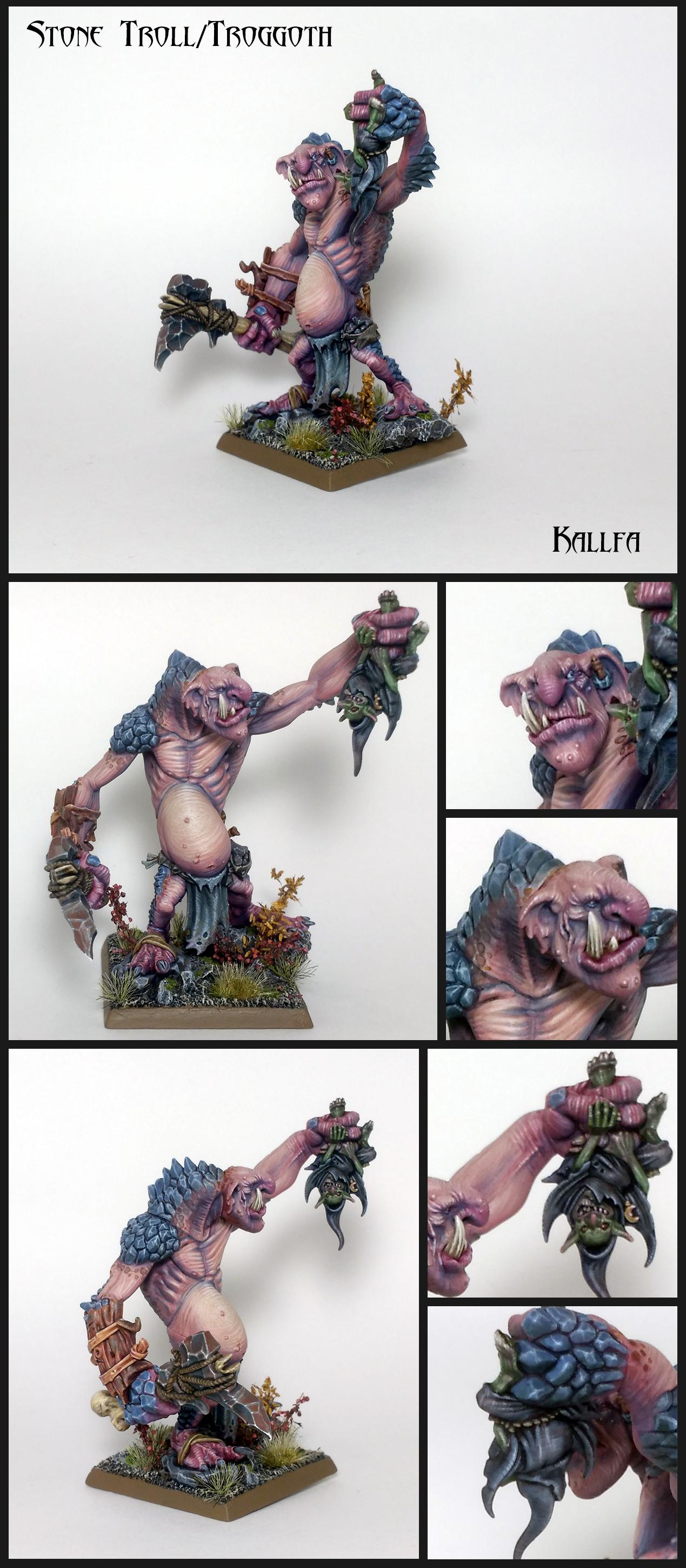 Stone Troll/Rockgut Troggoth