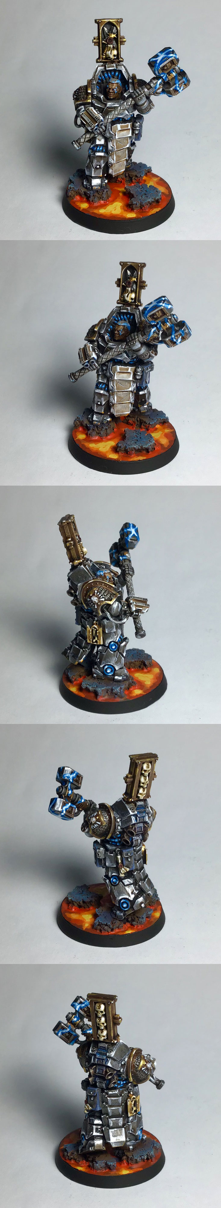 grey knights.brother captain. conversion
