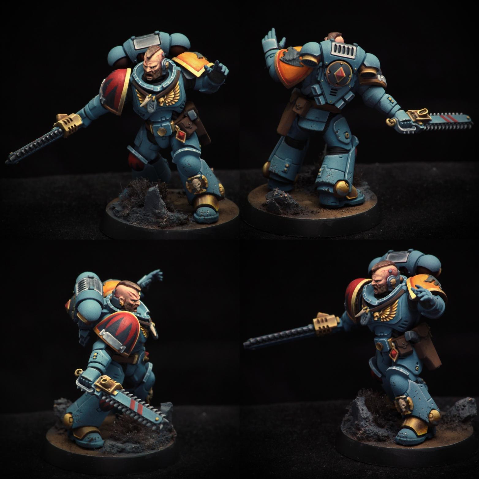 Space Wolves Primaris intercessor sergeant