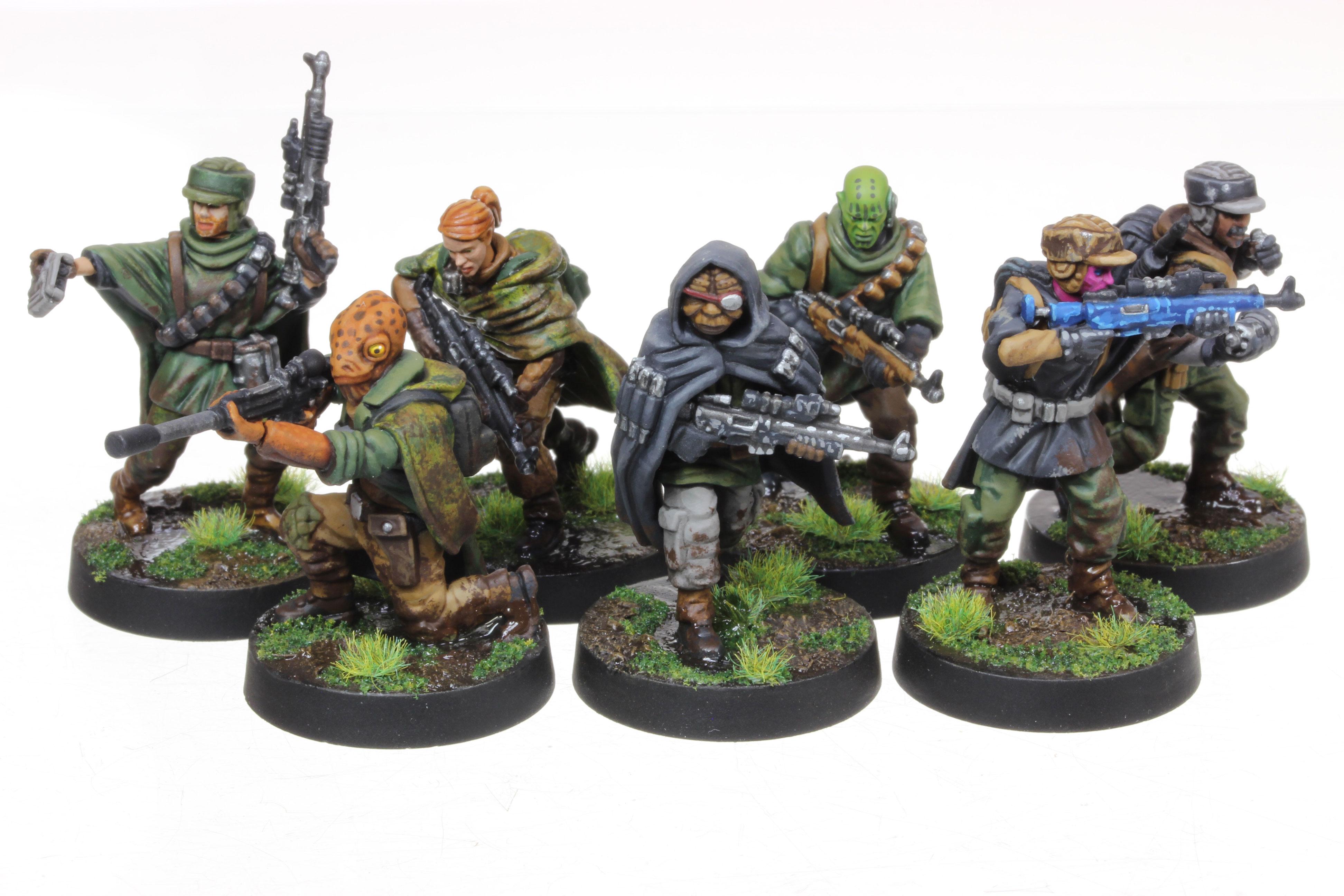 Star Wars: Legion Rebel Commandos