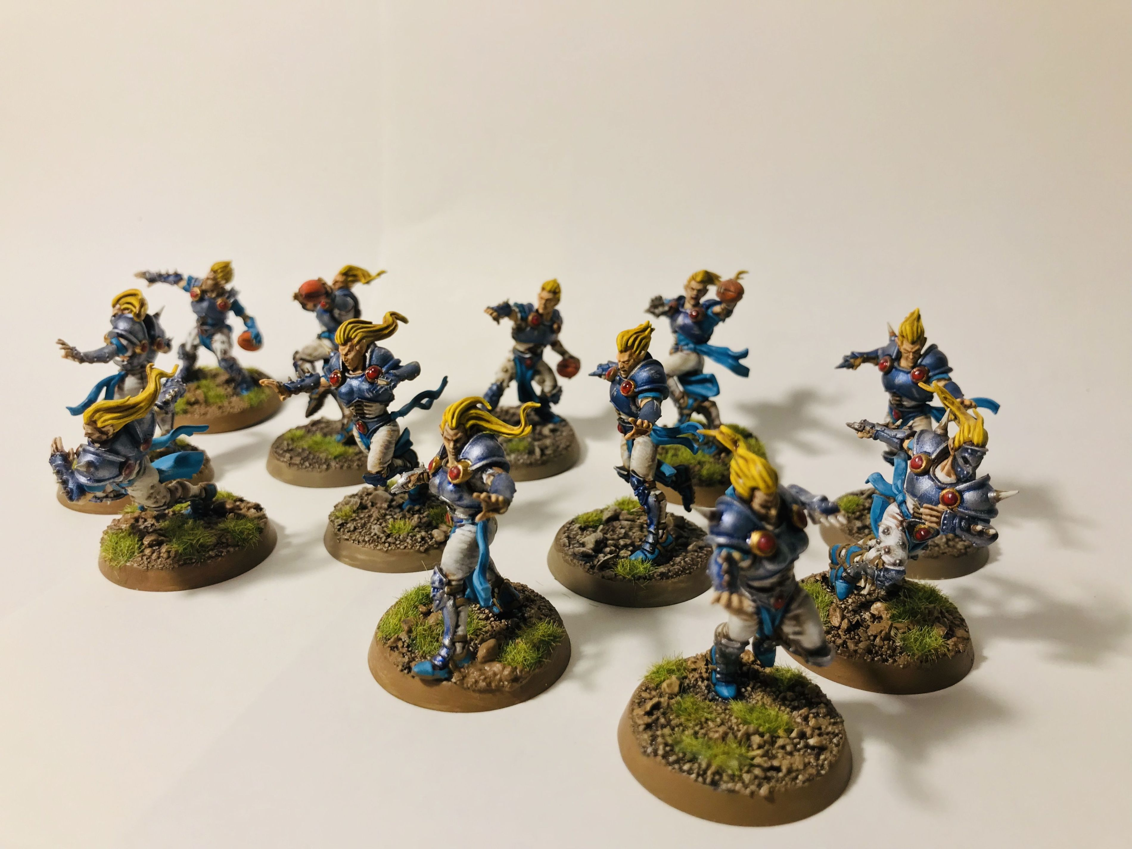 Elves Blood Bowl team