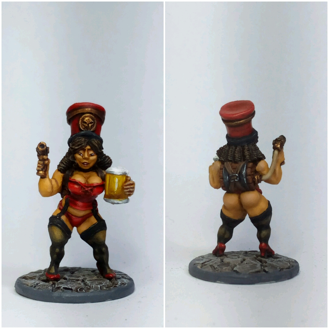Chaos Dwarf Beer Babe - Tavern Wench