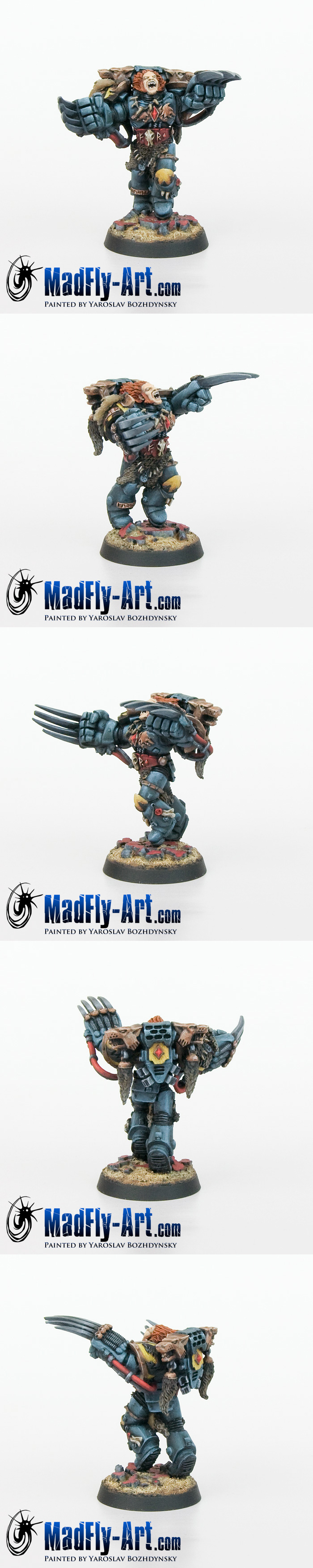 Space Wolves Wolf Guard Battle Leader