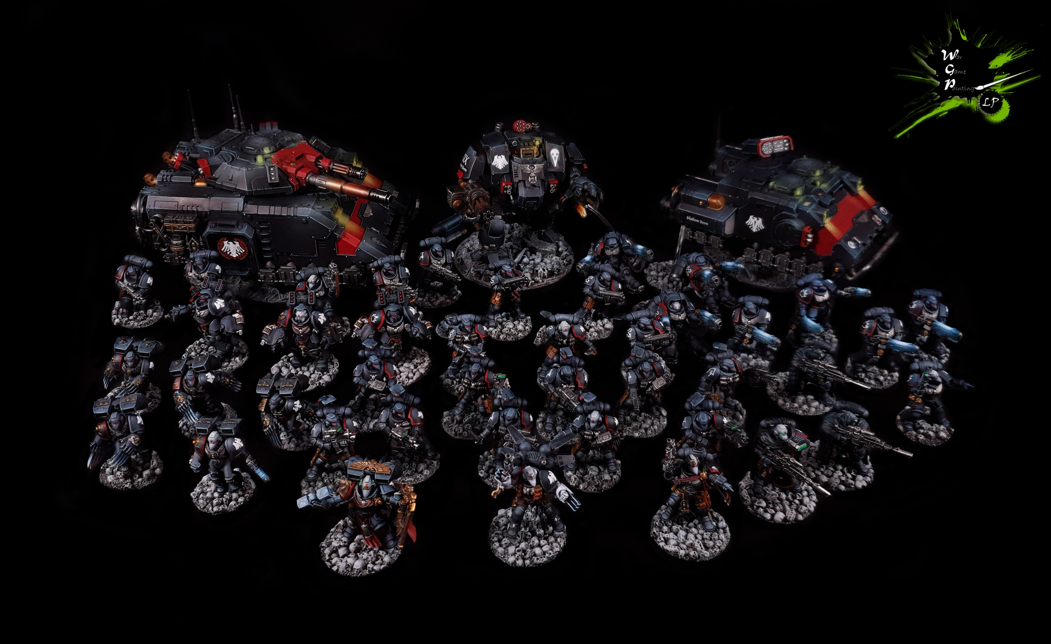 Raven Guard Fully Modded Army Warhammer 40K