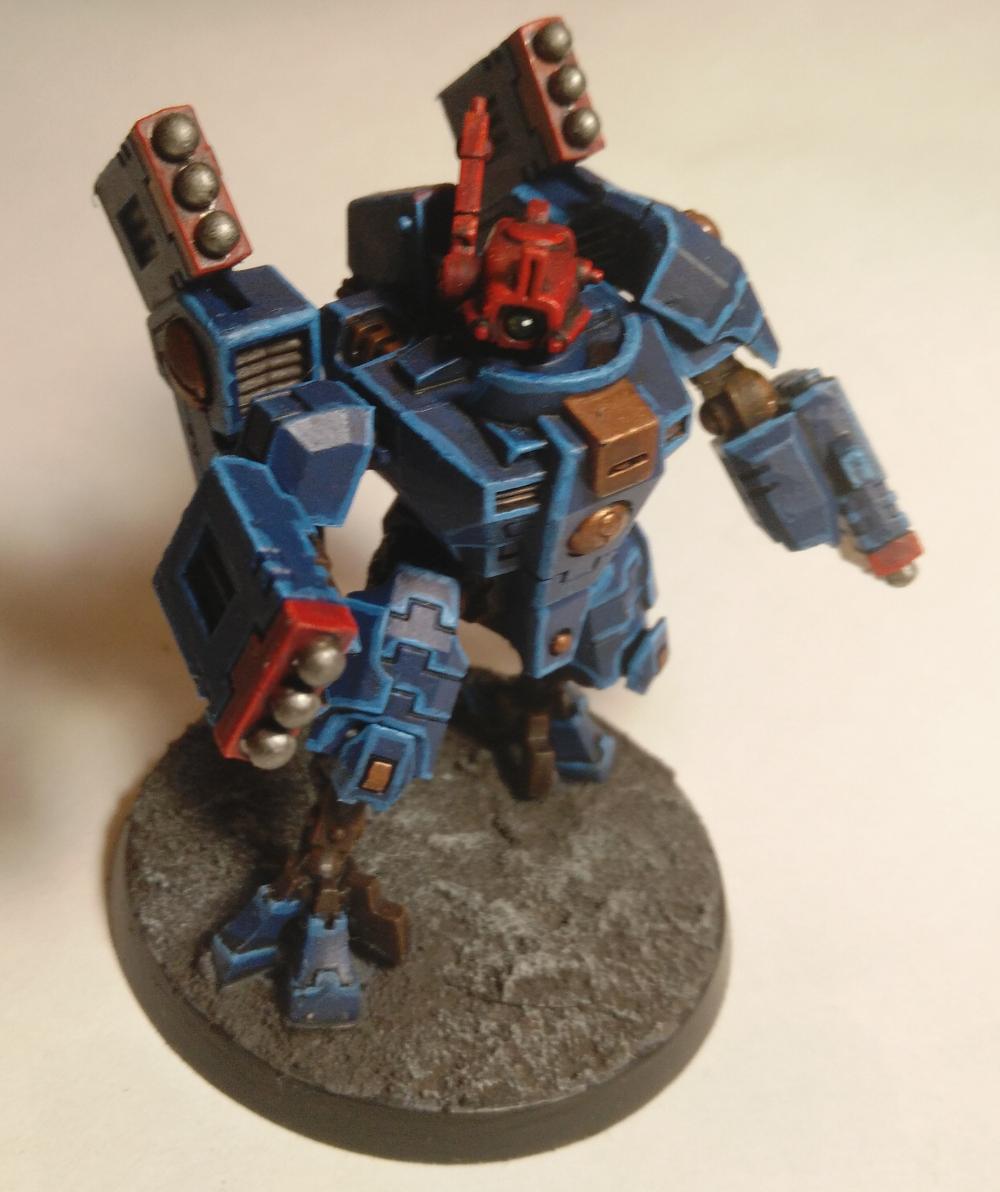 T'au Commander in XV8-02 Crisis Battlesuit
