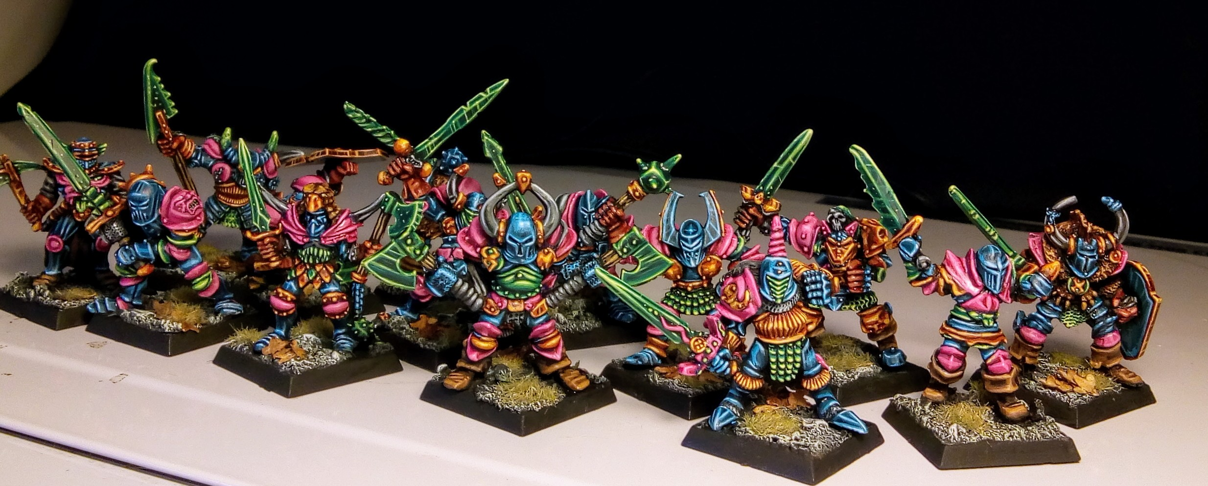 Chaos Warriors oldhammer