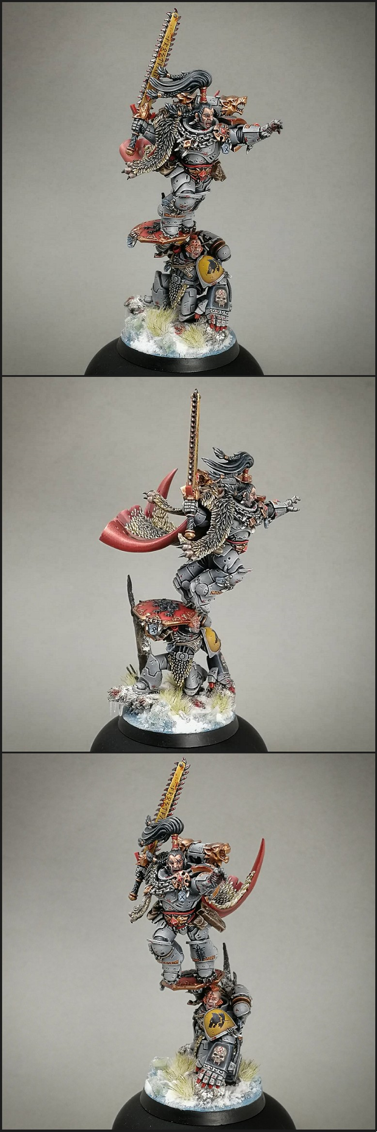 Space Wolves Wolf Lord Ragnar Blackmane
