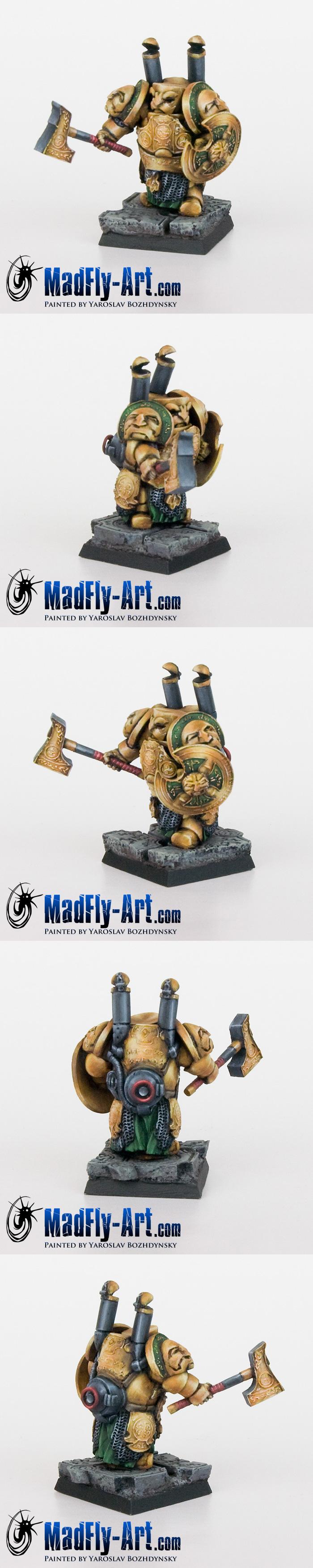 Dwarf Steam Armor #5