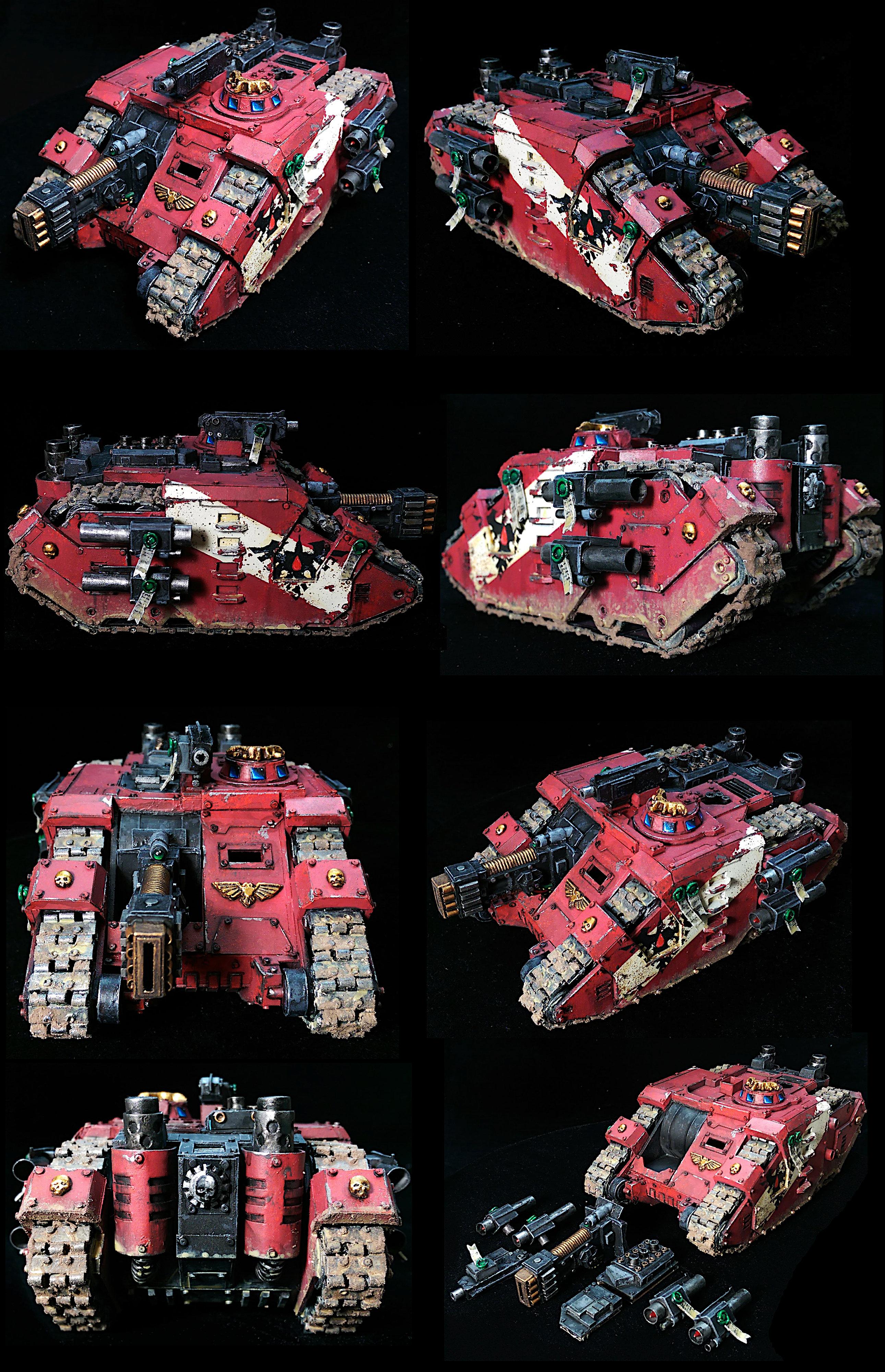 Scratchbuilt Sabre Strike Tank