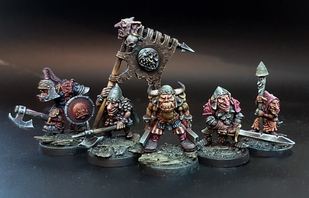 Orc & Goblin Command Group