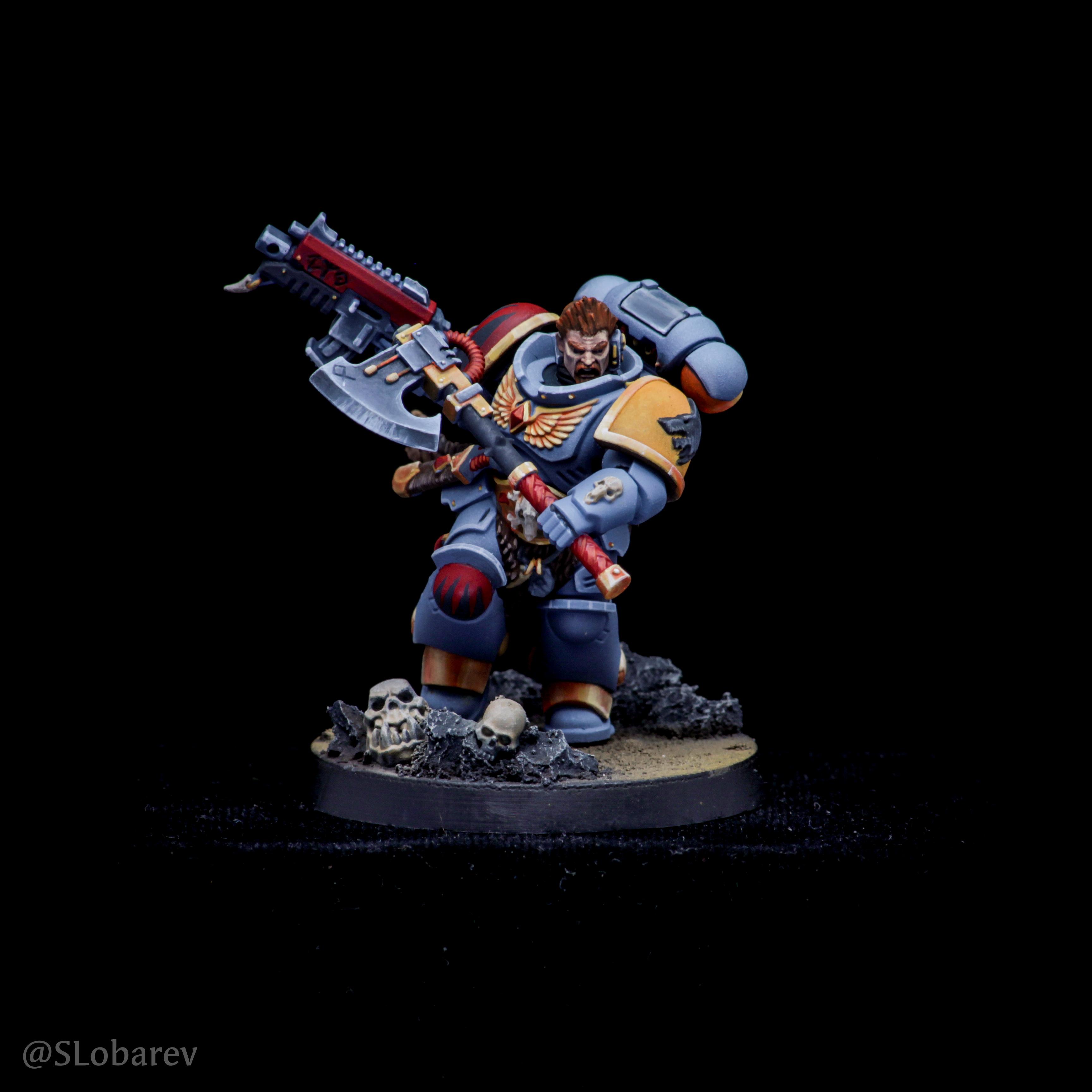 Space Wolves Primaris Battle Leader
