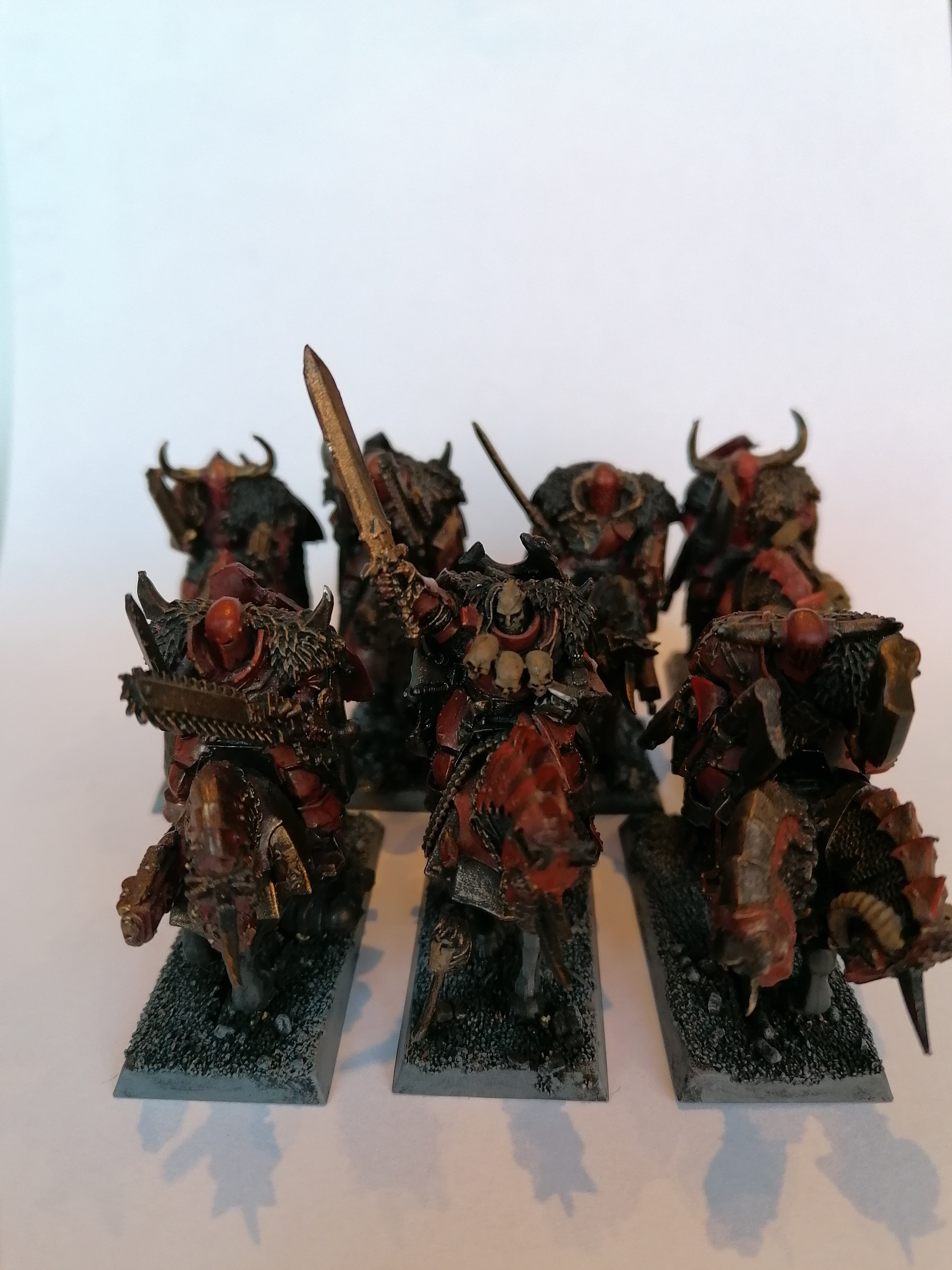 Chaos Knights of Khorne conversions