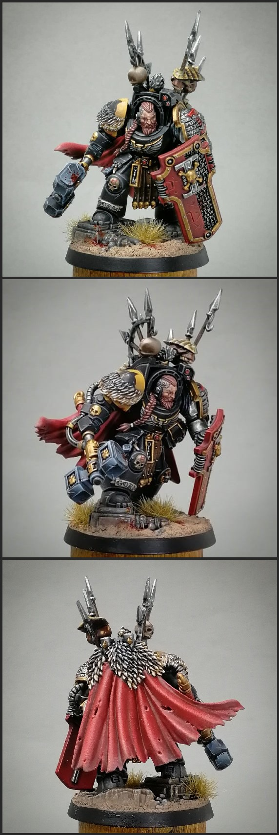 Deathwatch Watch Captain in Terminator Armor Space Wolves