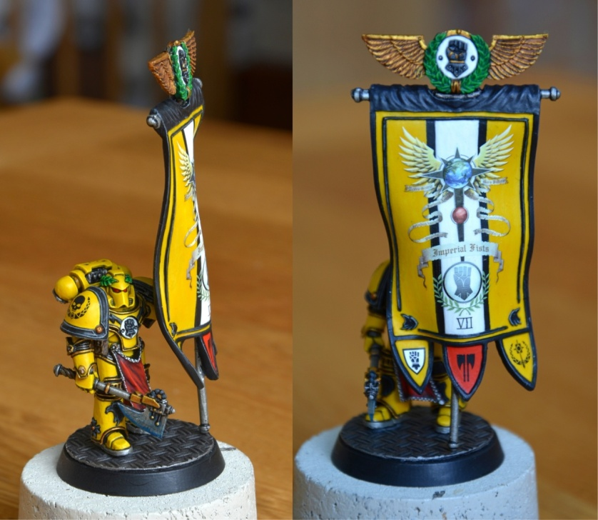 Imperial Fists Legion Herald
