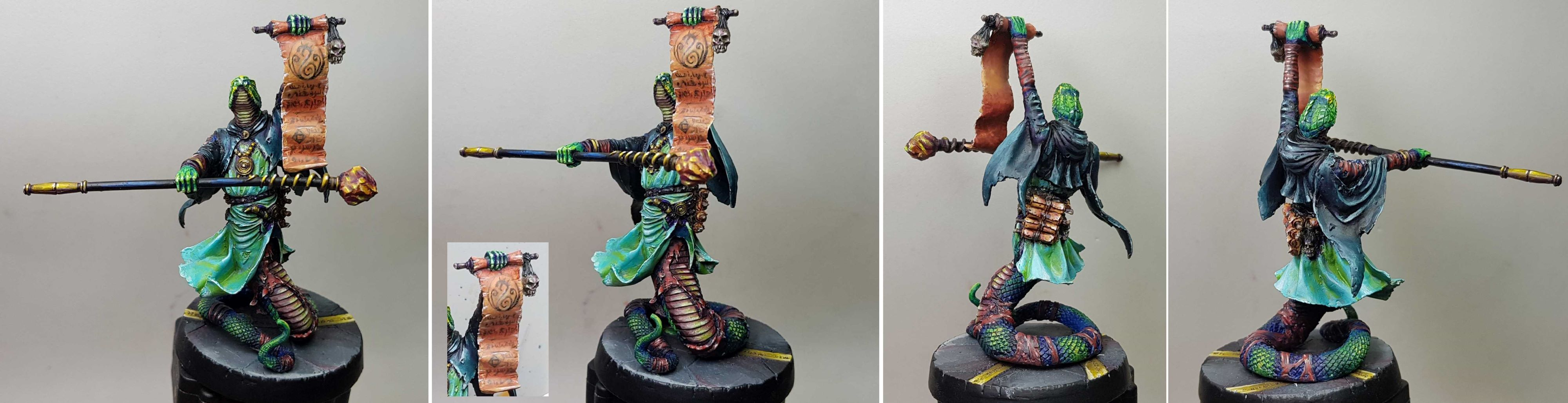 Mierce Miniatures - Kthones - Svrill, Wielder of Kthone