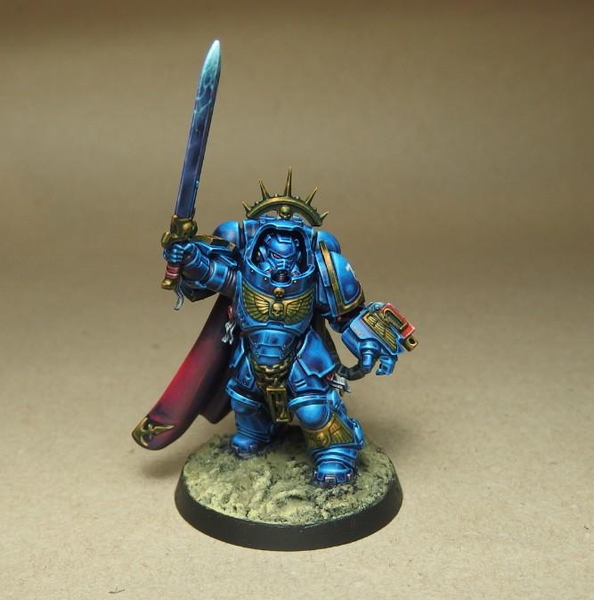 Ultramarine Primaris Captain
