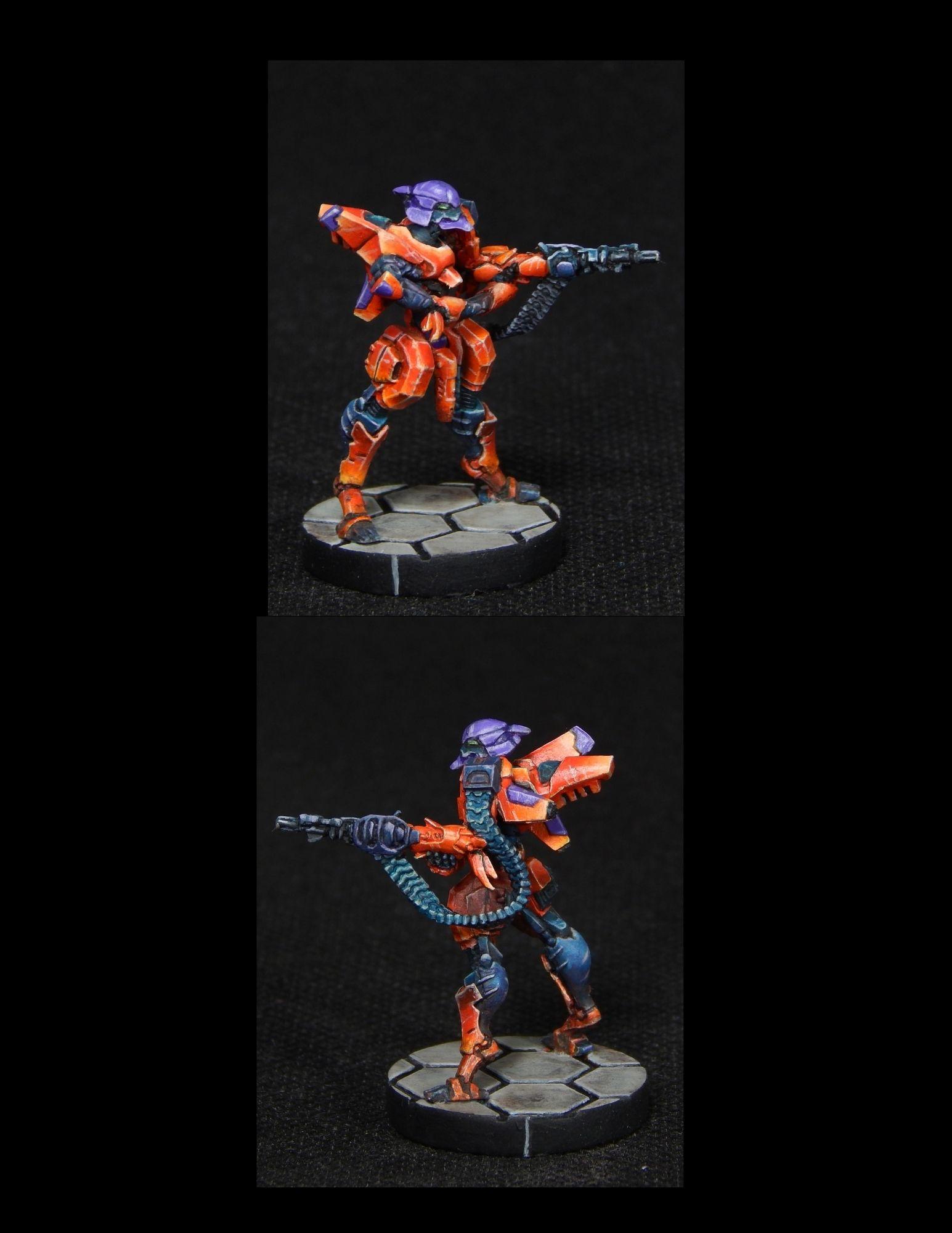 Dakini Tactbots with HMG