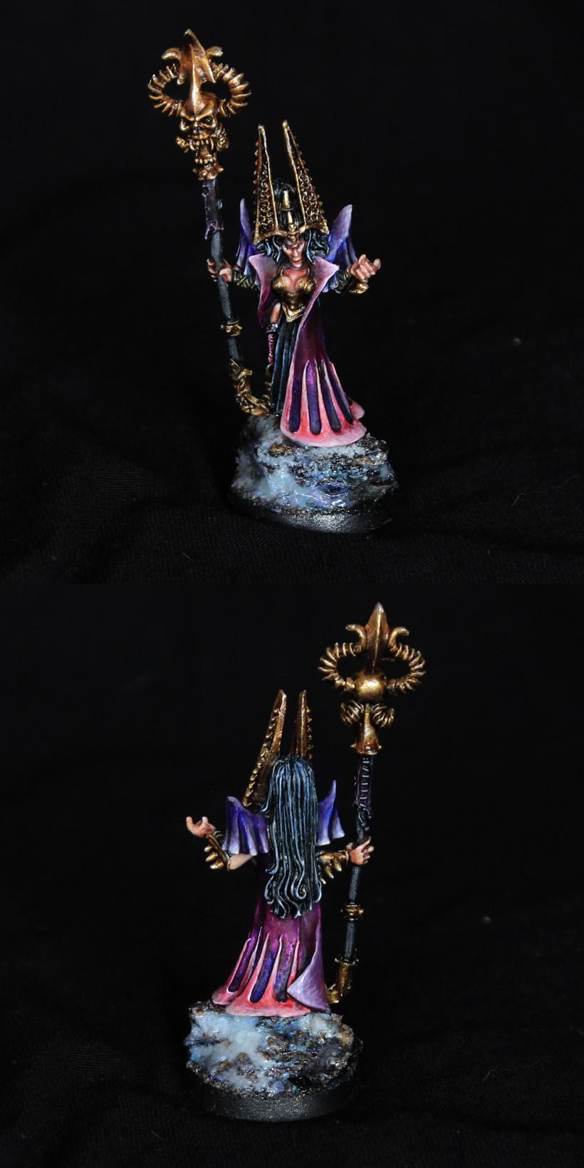 Morathi Sorceress old Warhammmer