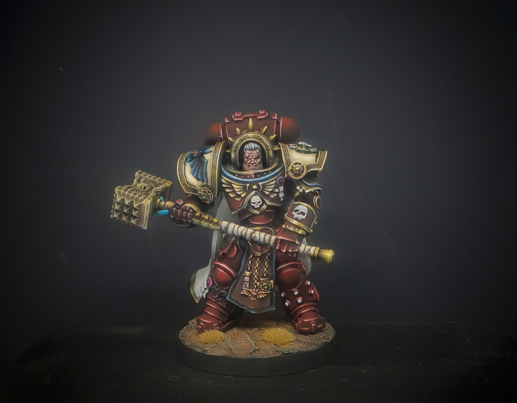 Gabriel Angelos Blood Ravens conversion