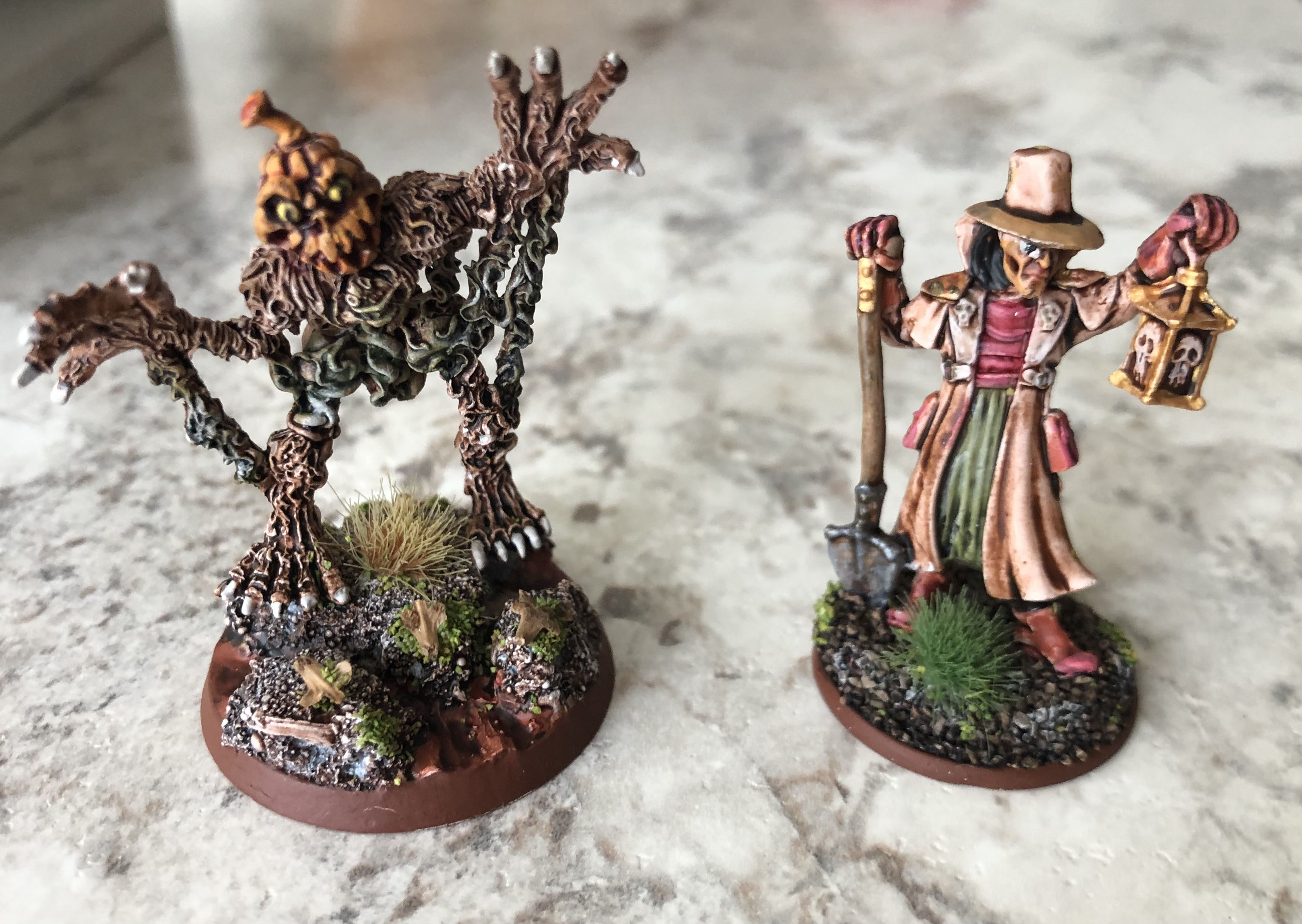 Scare Crow & Grave Digger