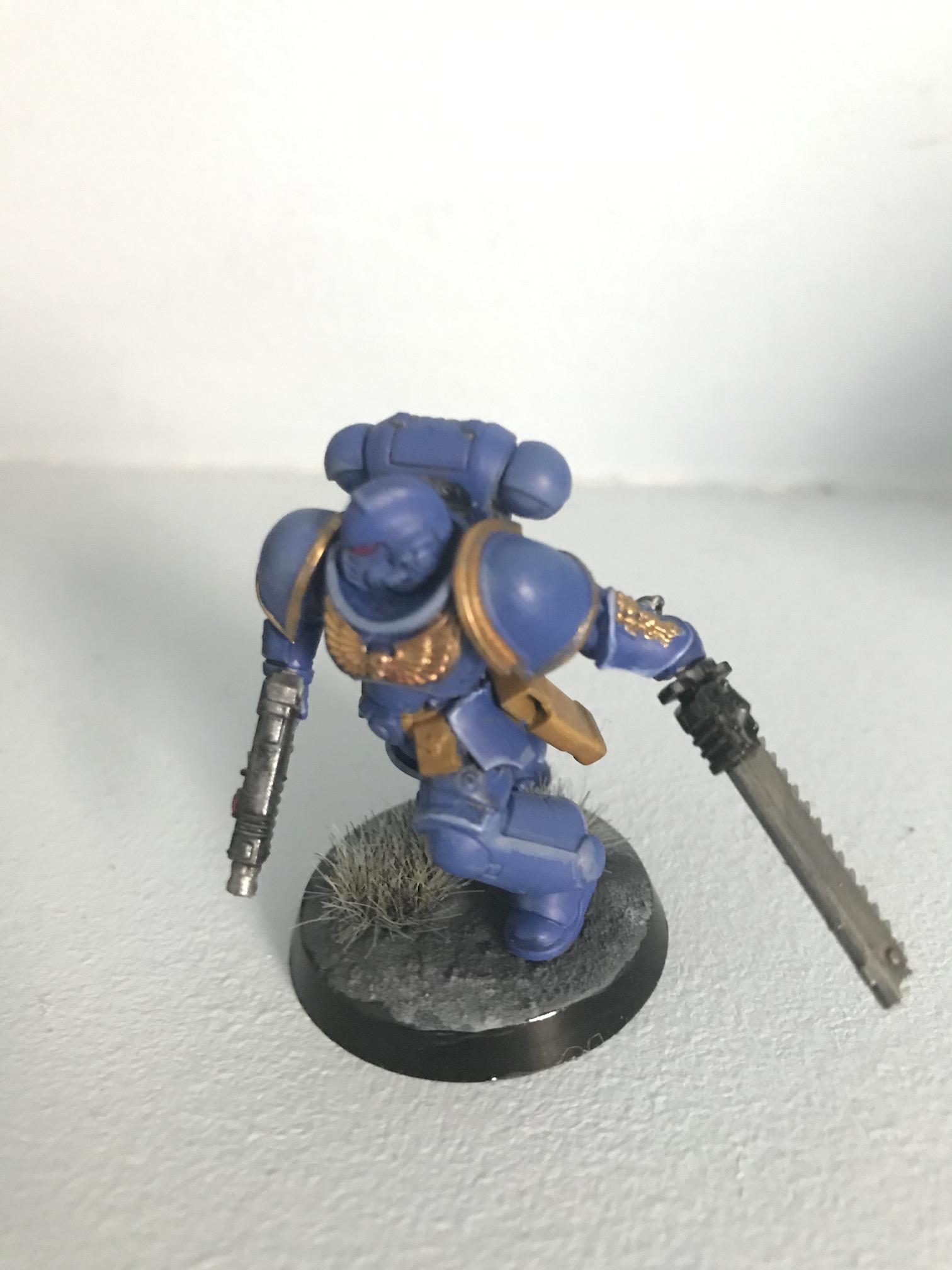 My first ultramarine